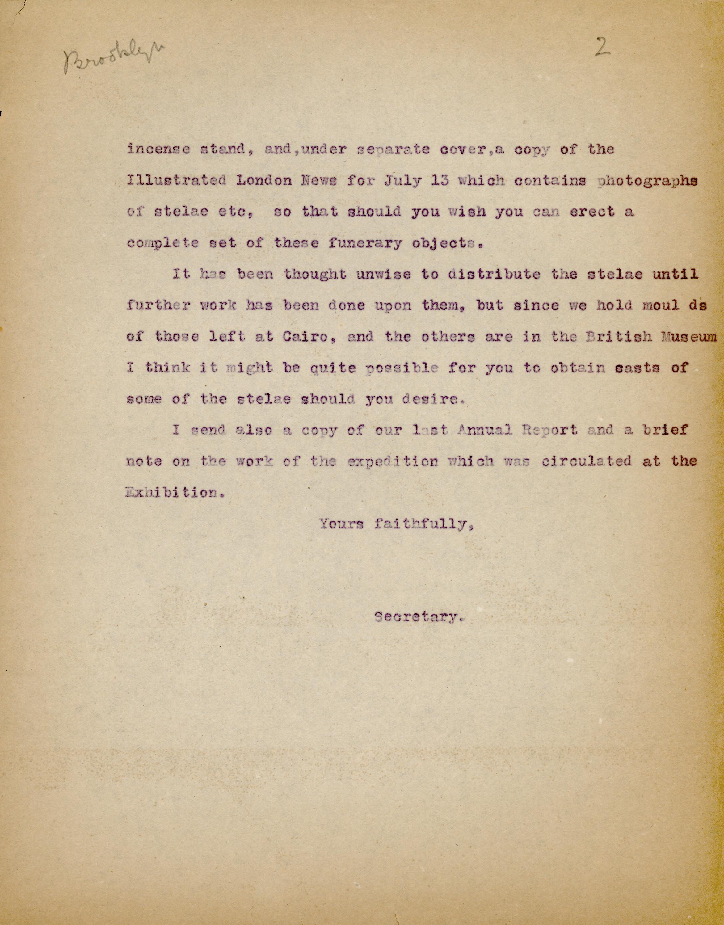 1928-29 el-Amarna and Armant DIST.51.65b