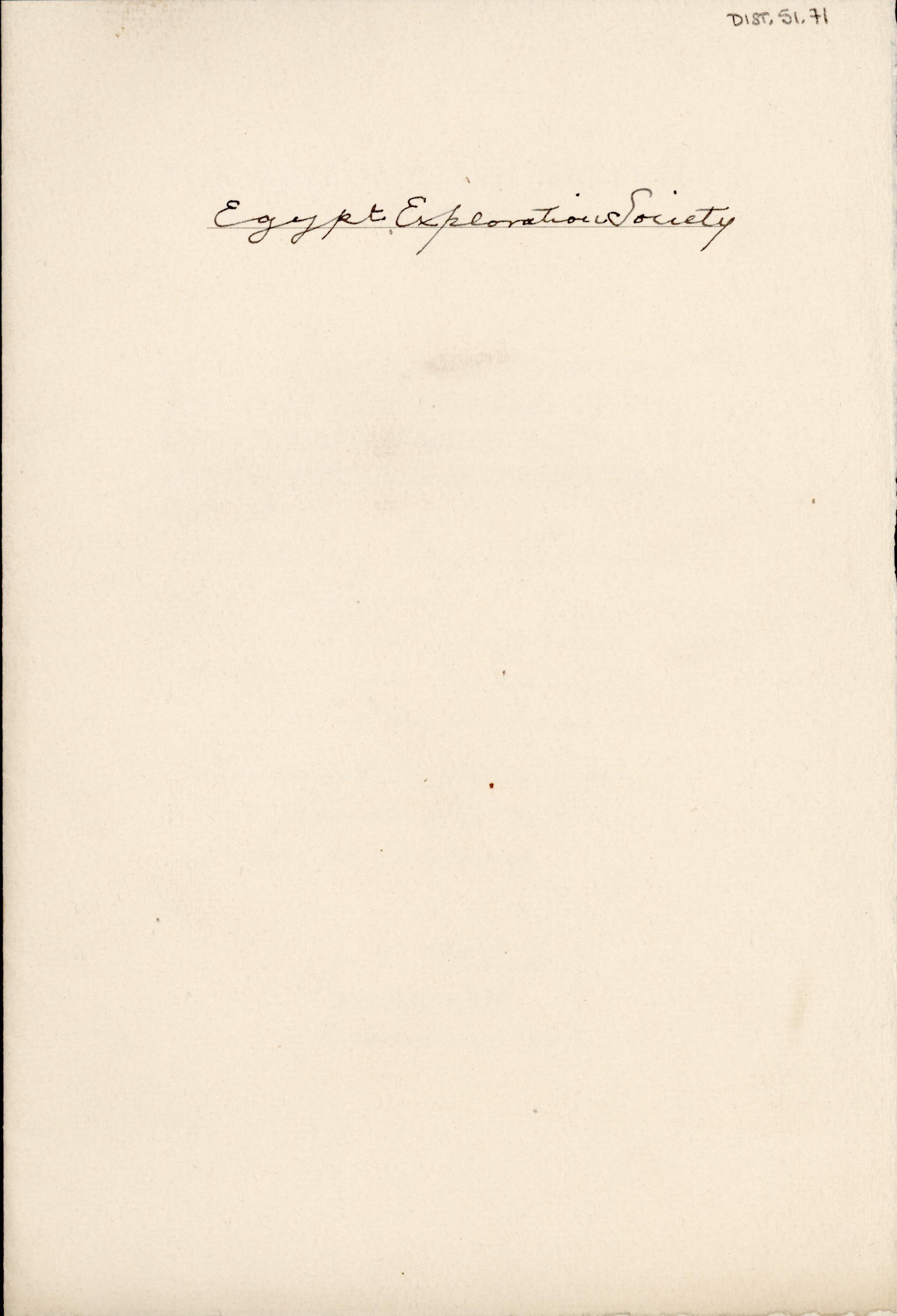 1928-29 el-Amarna and Armant DIST.51.71a
