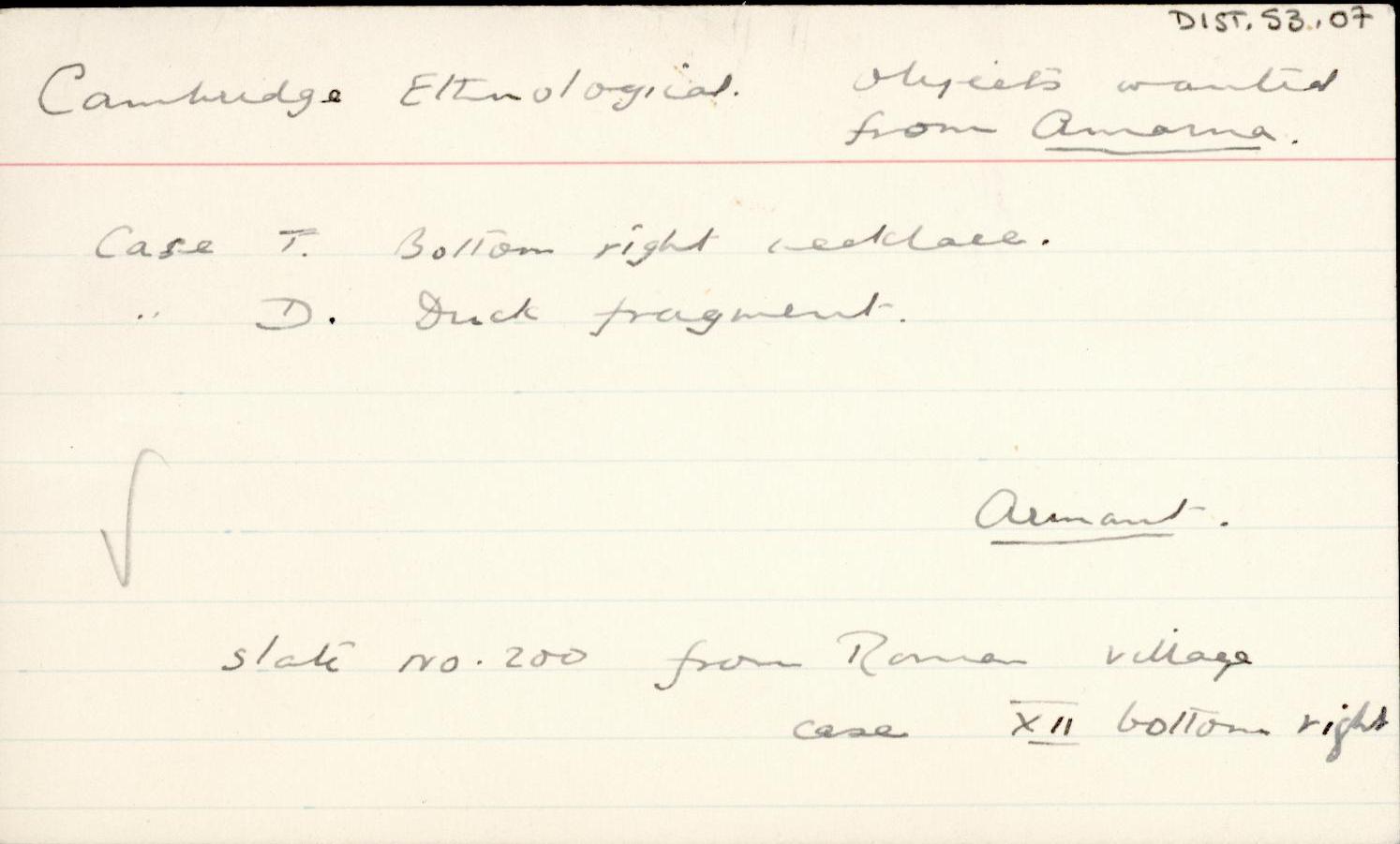 1930-32 Armant DIST.53.07