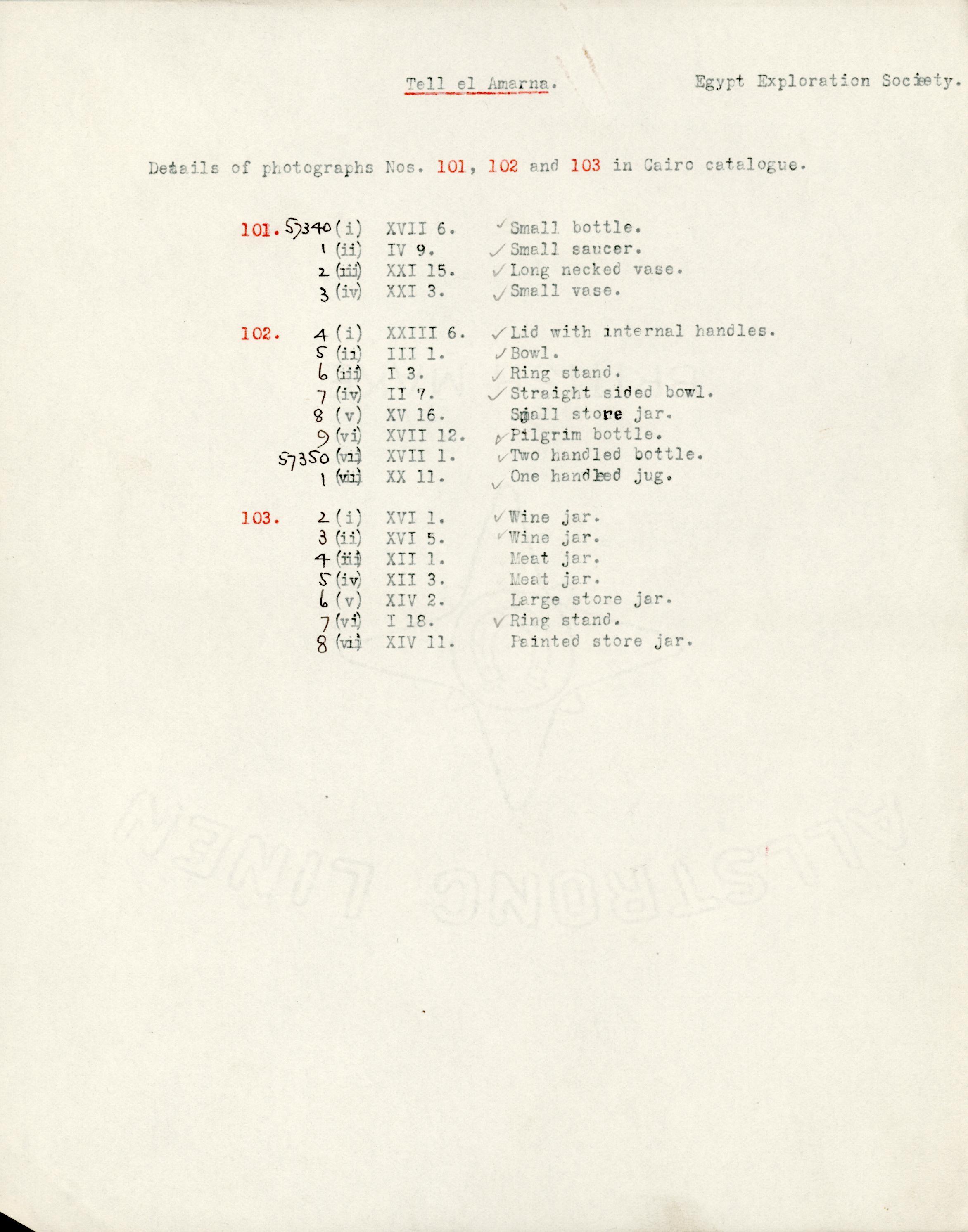 1931-32 el-Amarna and Armant DIST.54.01m