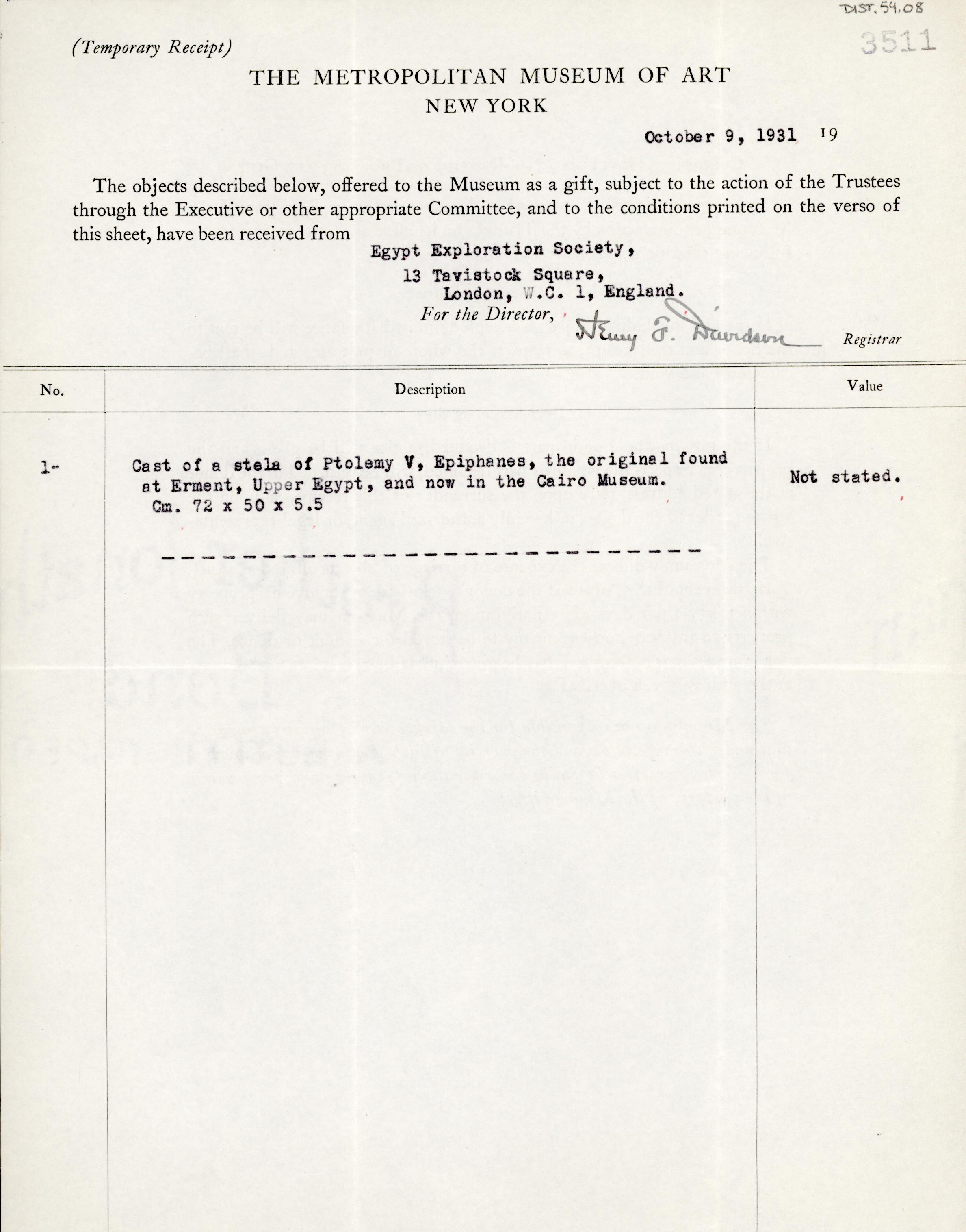 1931-32 el-Amarna and Armant DIST.54.08a
