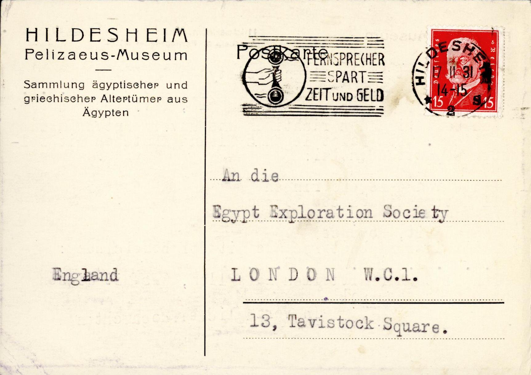 1931-32 el-Amarna and Armant DIST.54.32b