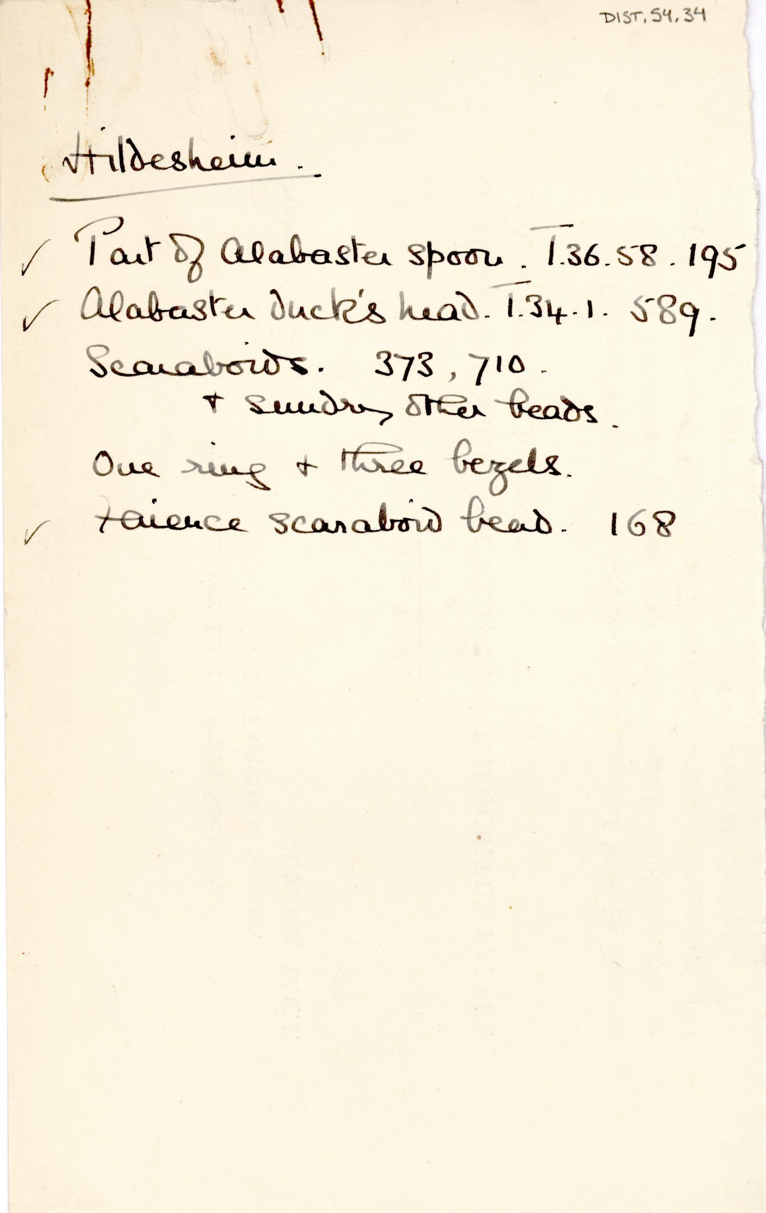 1931-32 el-Amarna and Armant DIST.54.34a