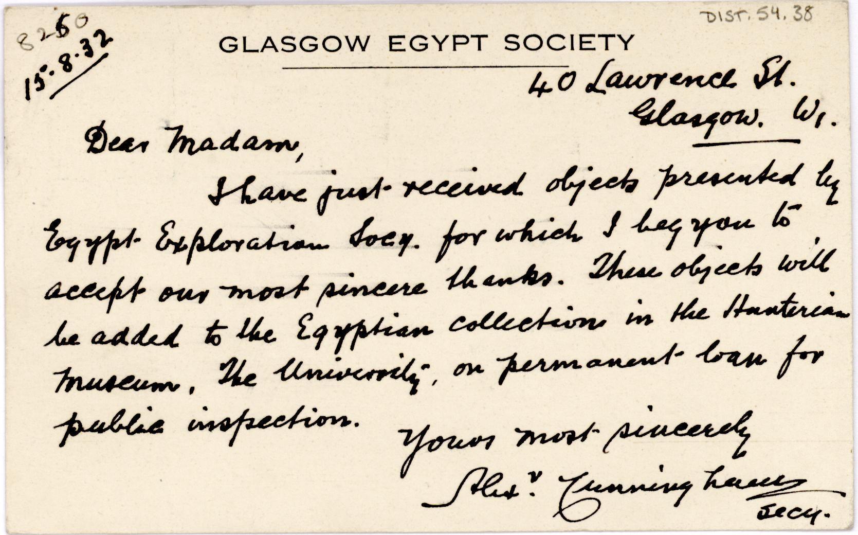 1931-32 el-Amarna and Armant DIST.54.38a
