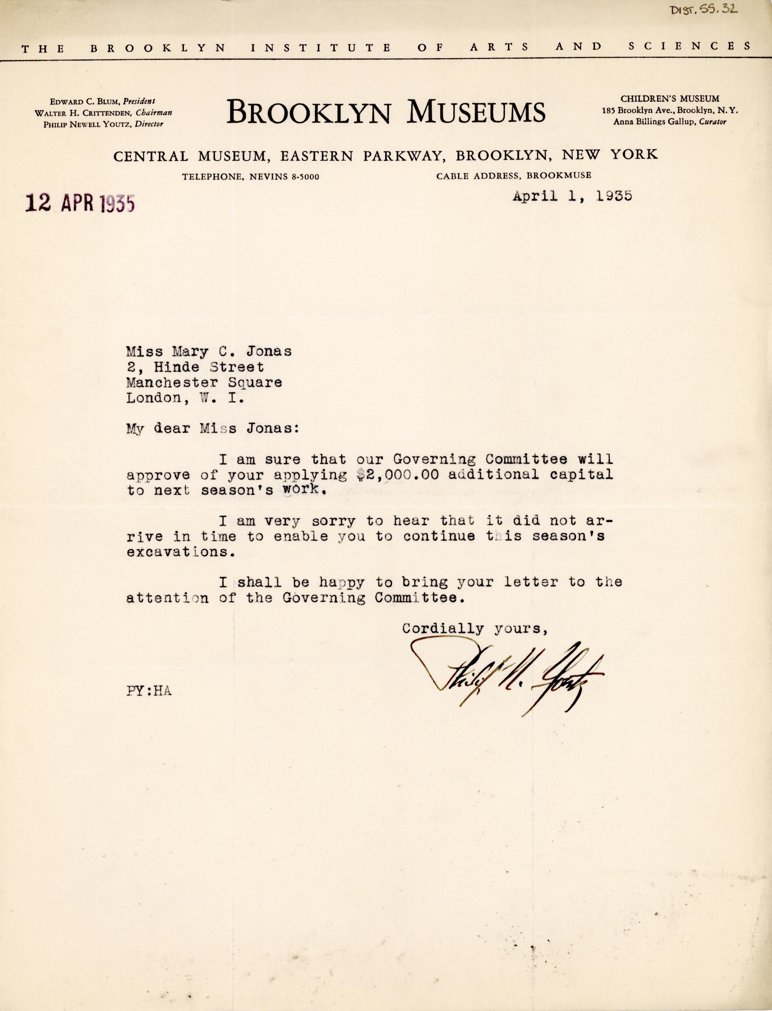 1931-44 Brooklyn Museum DIST.55.32