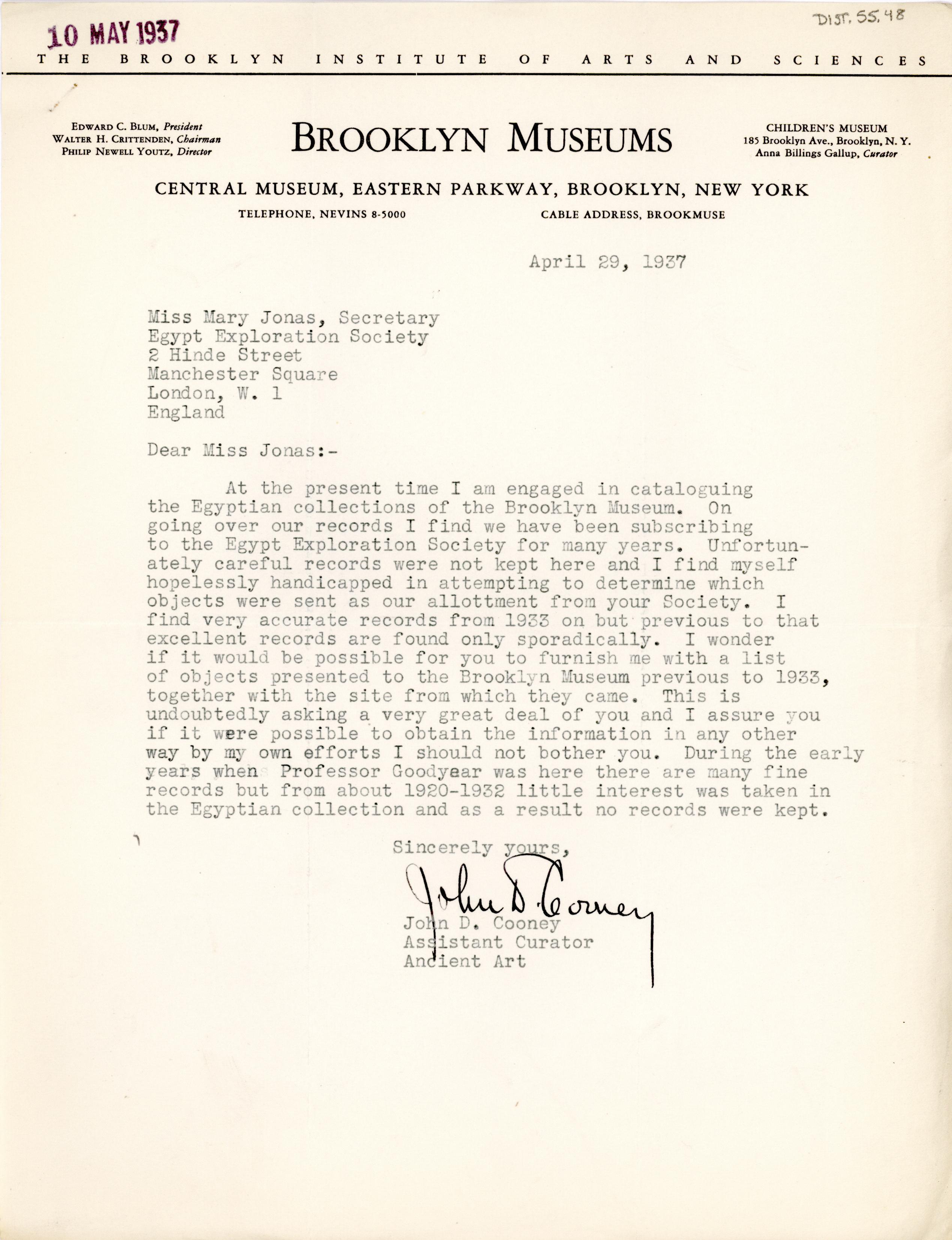 1931-44 Brooklyn Museum DIST.55.48