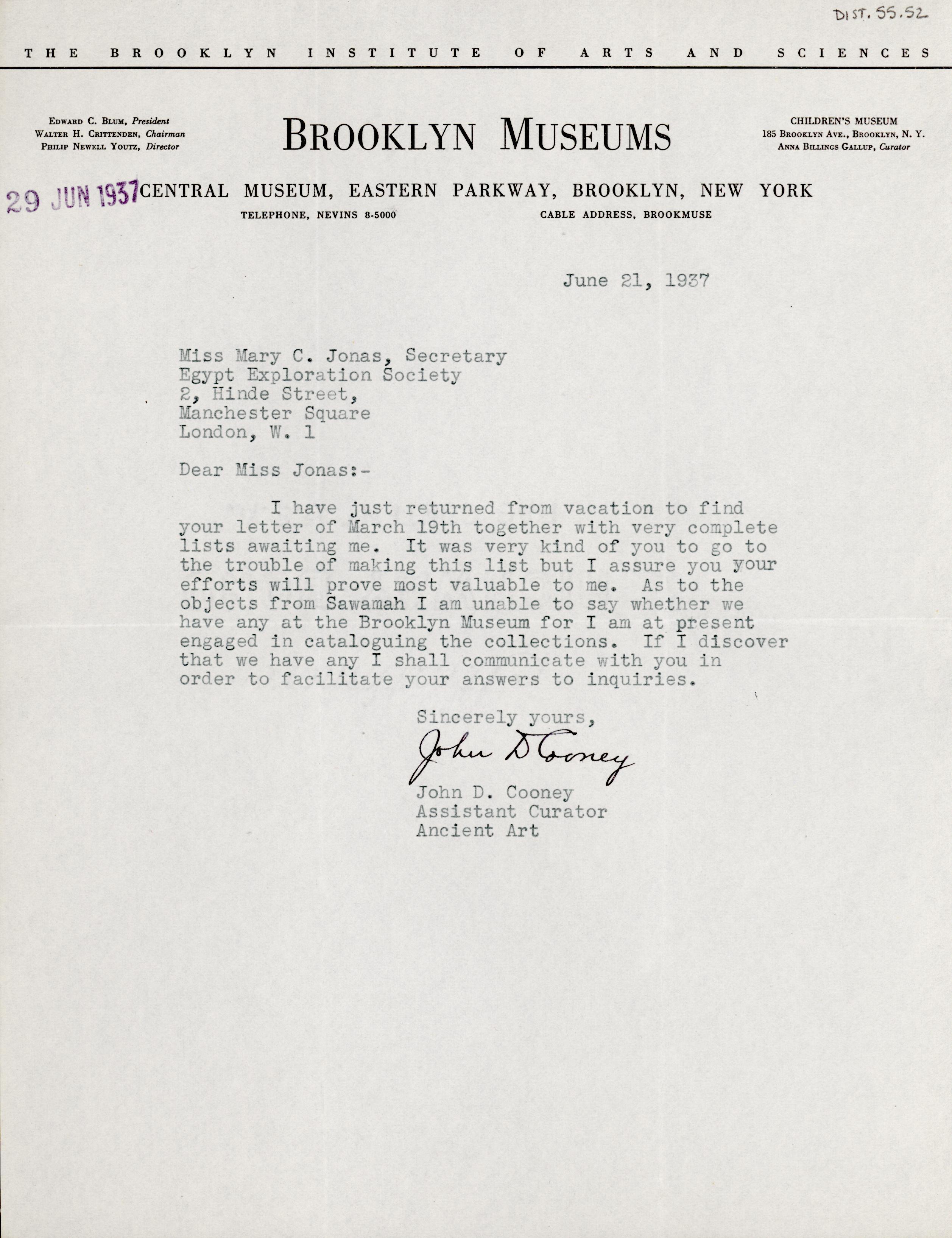 1931-44 Brooklyn Museum DIST.55.52