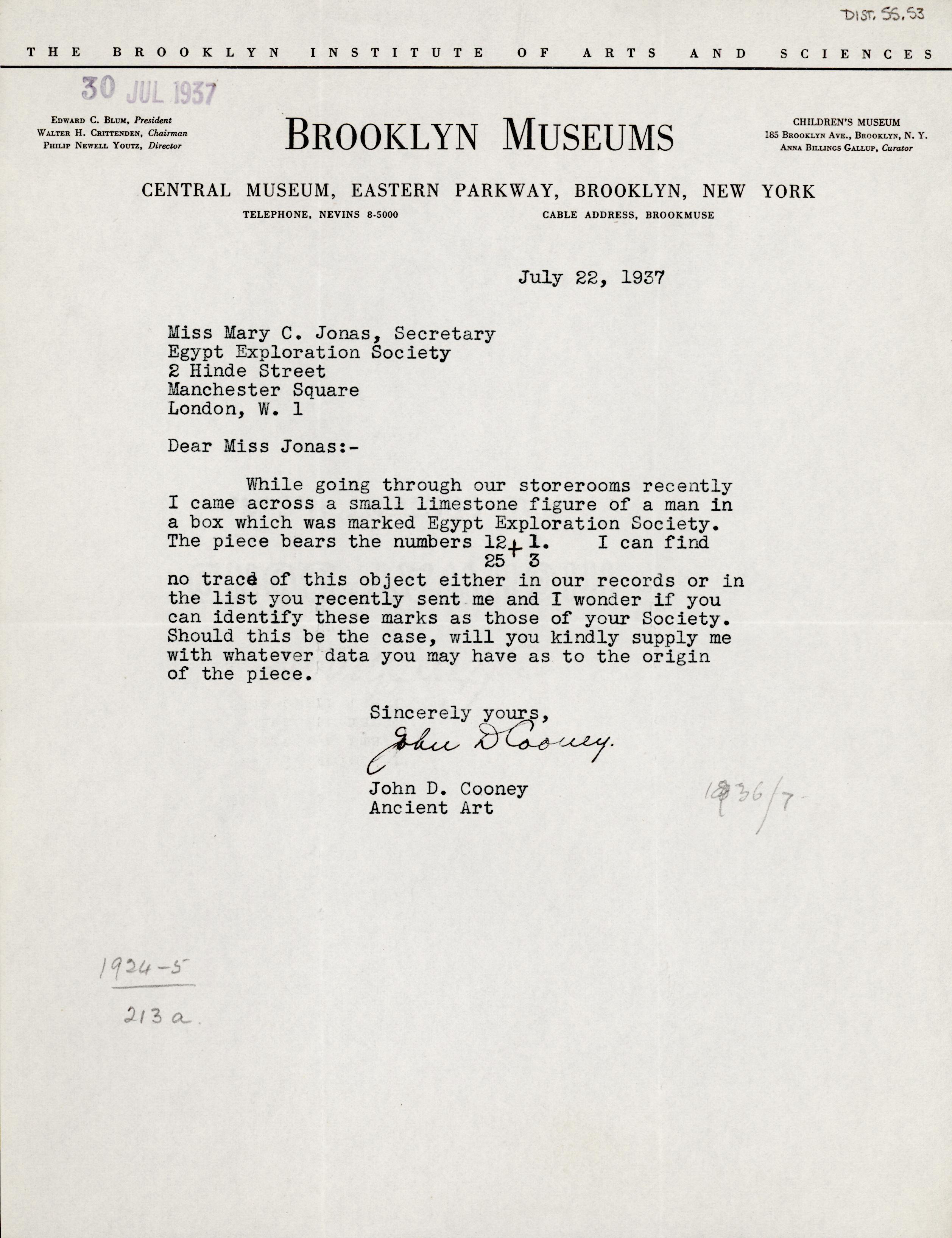 1931-44 Brooklyn Museum DIST.55.53