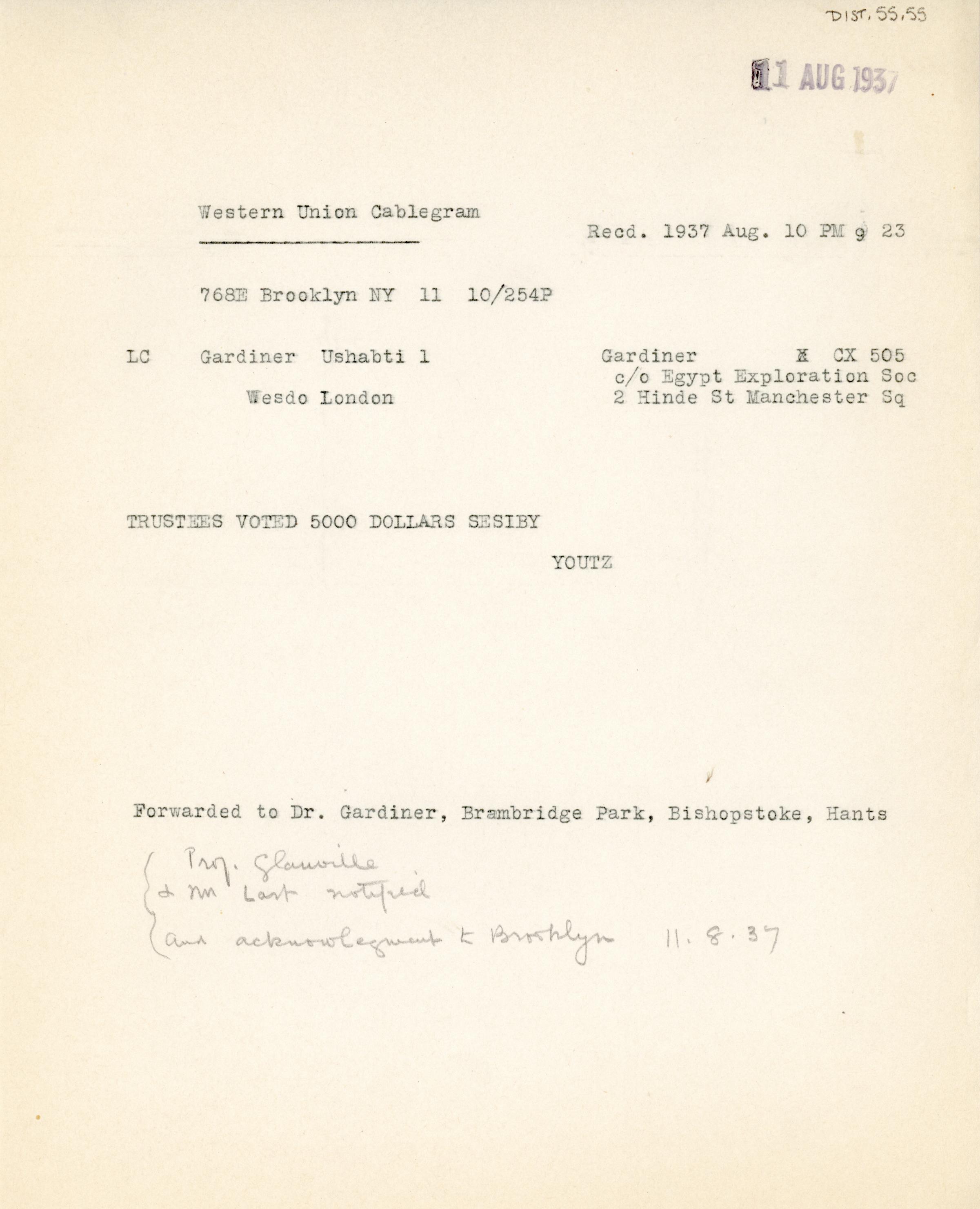 1931-44 Brooklyn Museum DIST.55.55