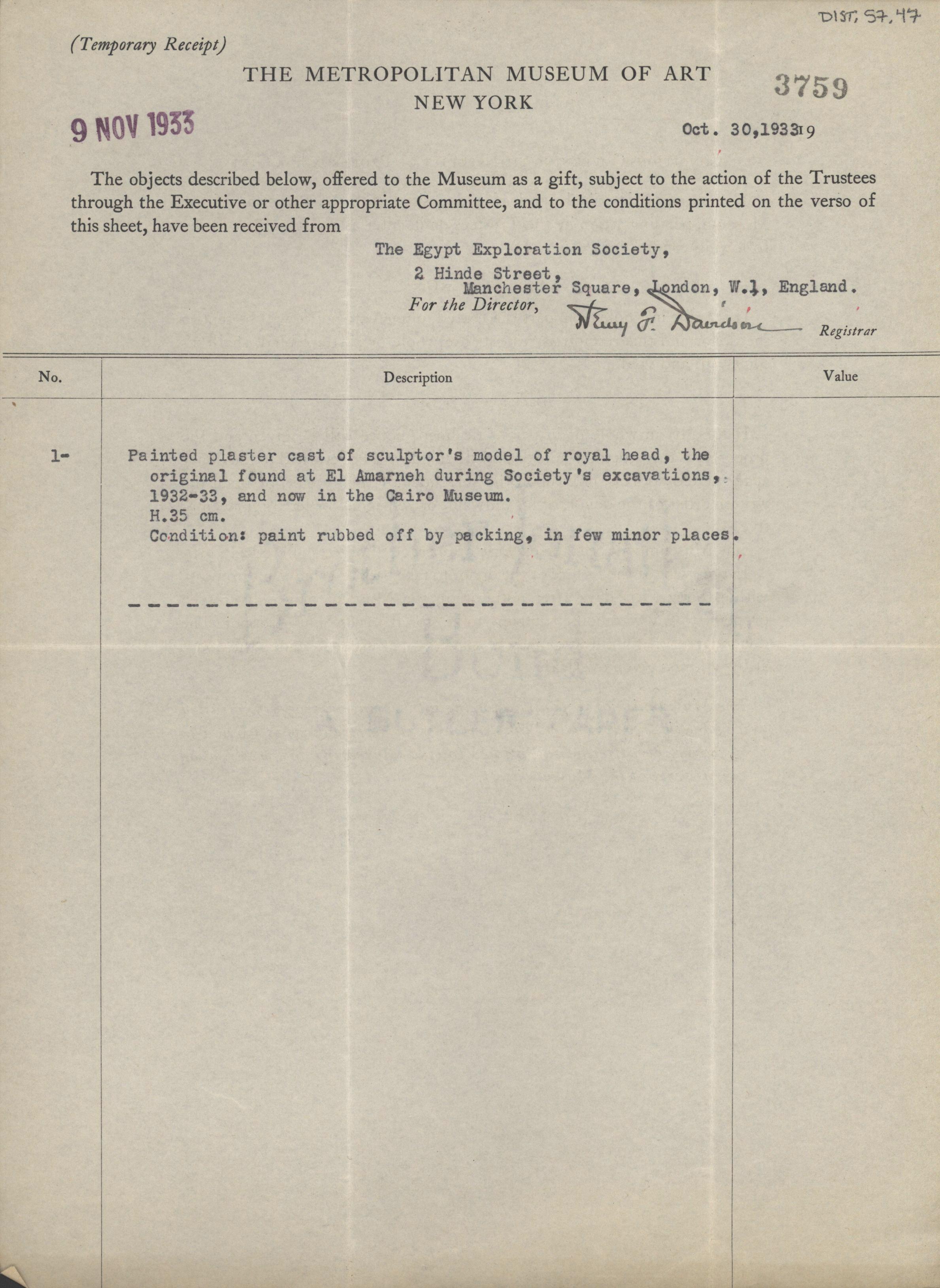 1931-34 el-Amarna DIST.57.47a