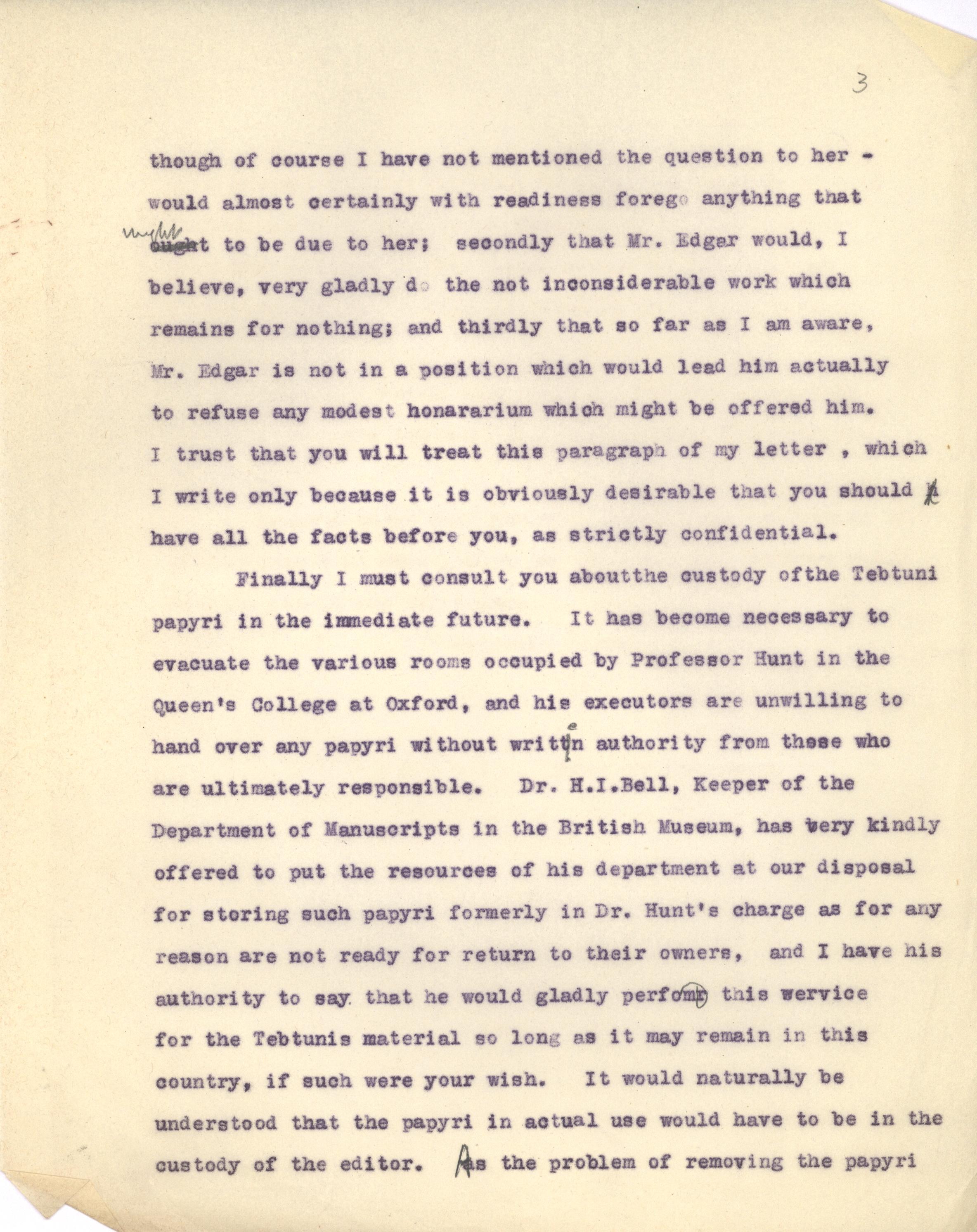 1934-38 Tebtunis papyri correspondence DIST.59.01c