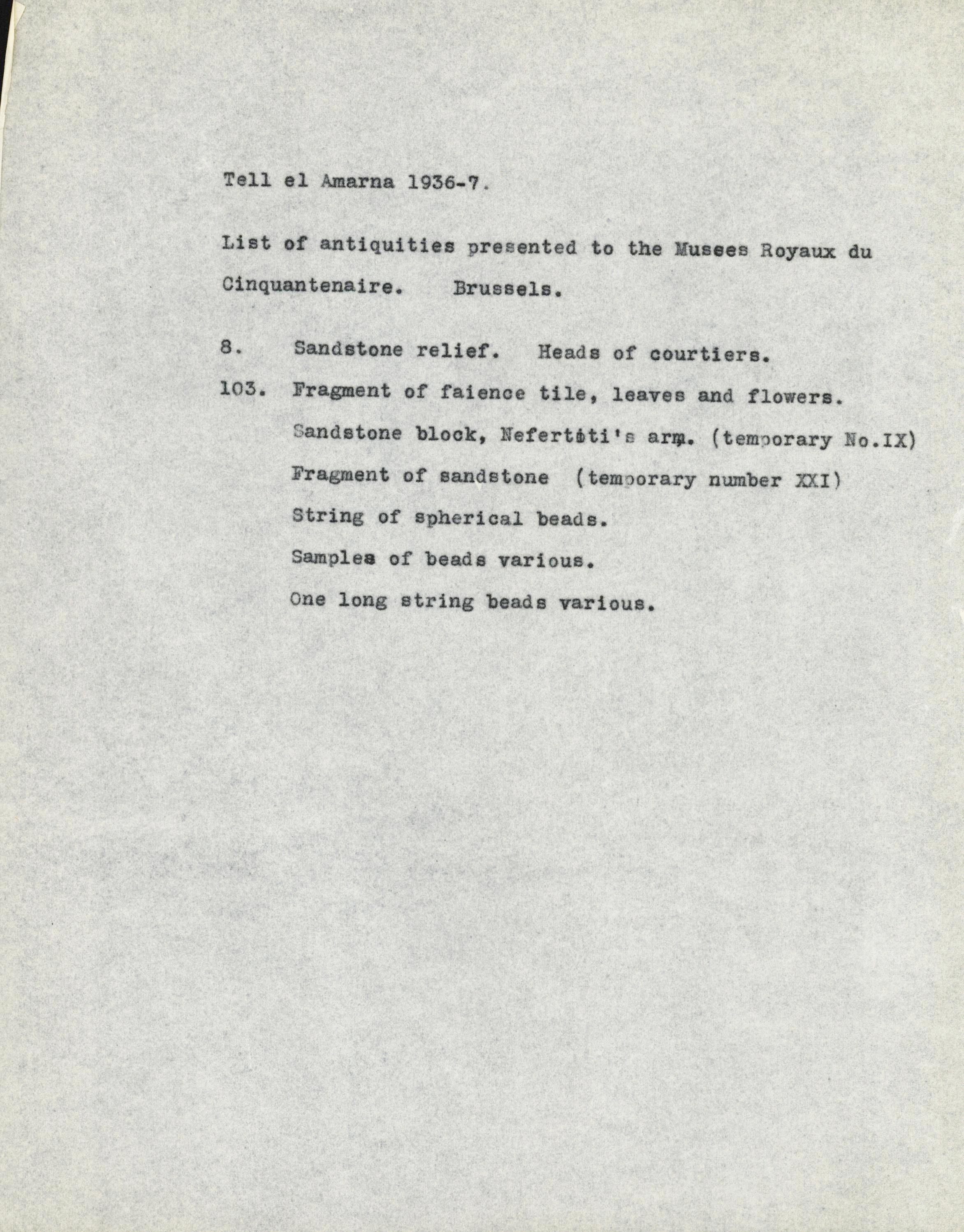 1936-37 el-Amarna DIST.61.43e