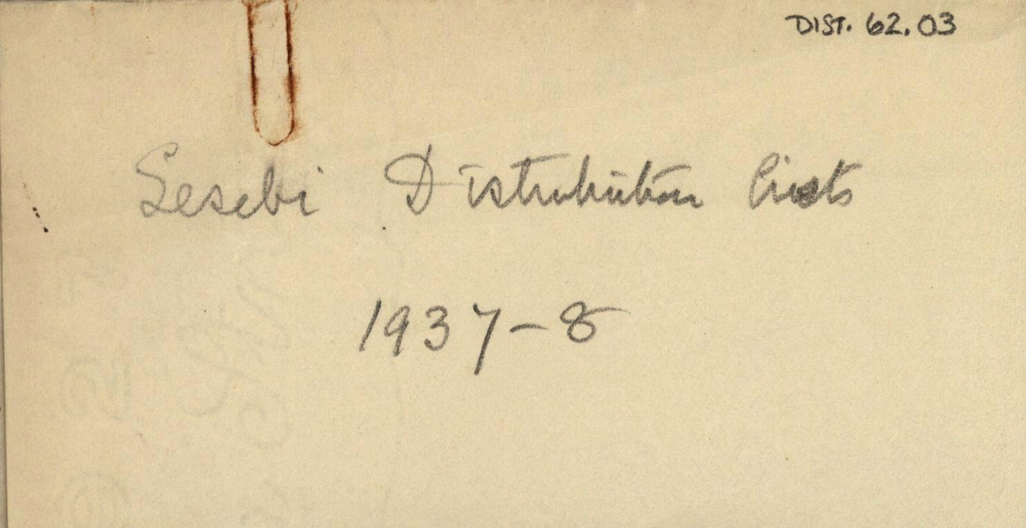 1936-38 Amarah West, Sesebi DIST.62.03a
