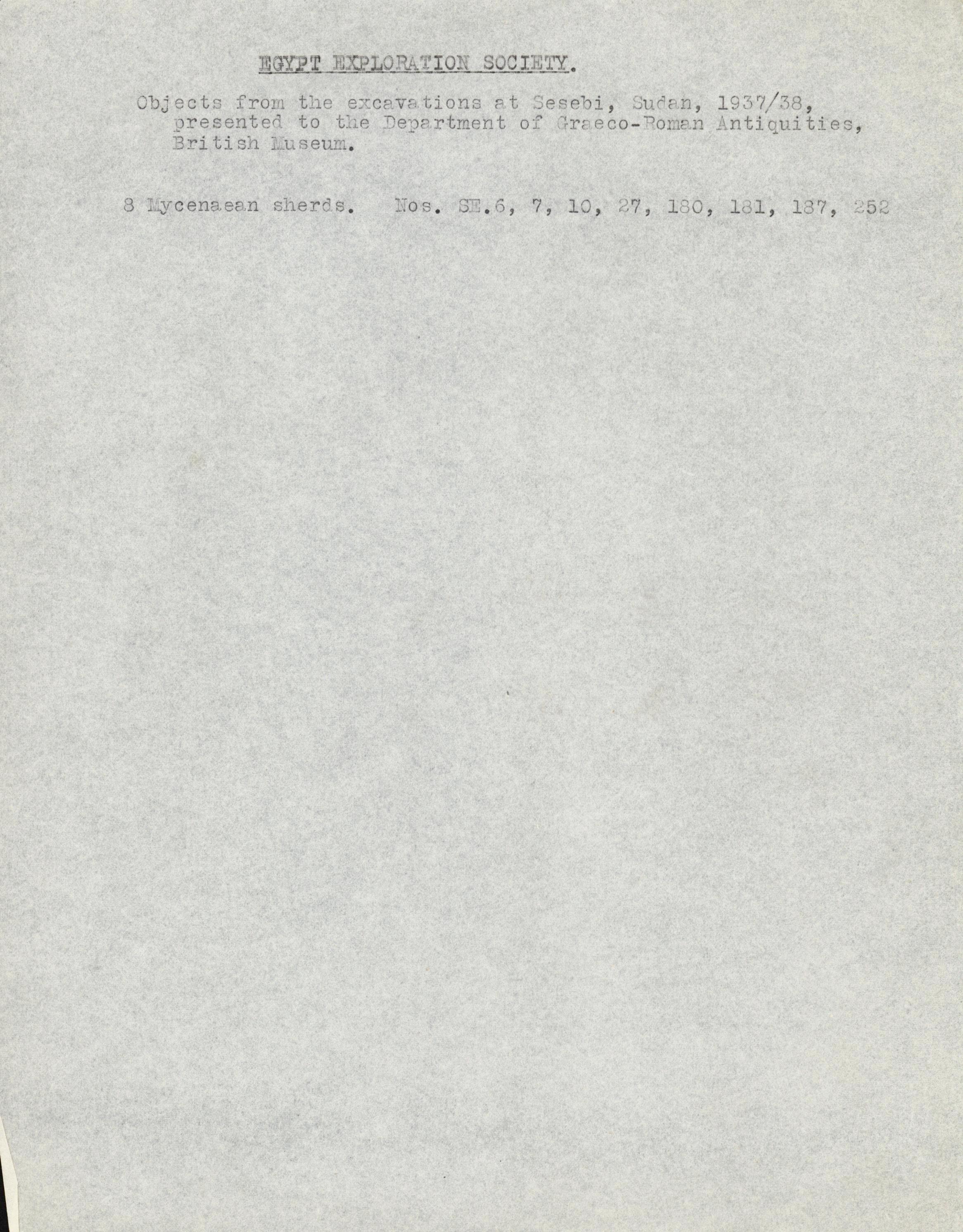 1936-38 Amarah West, Sesebi DIST.62.03c