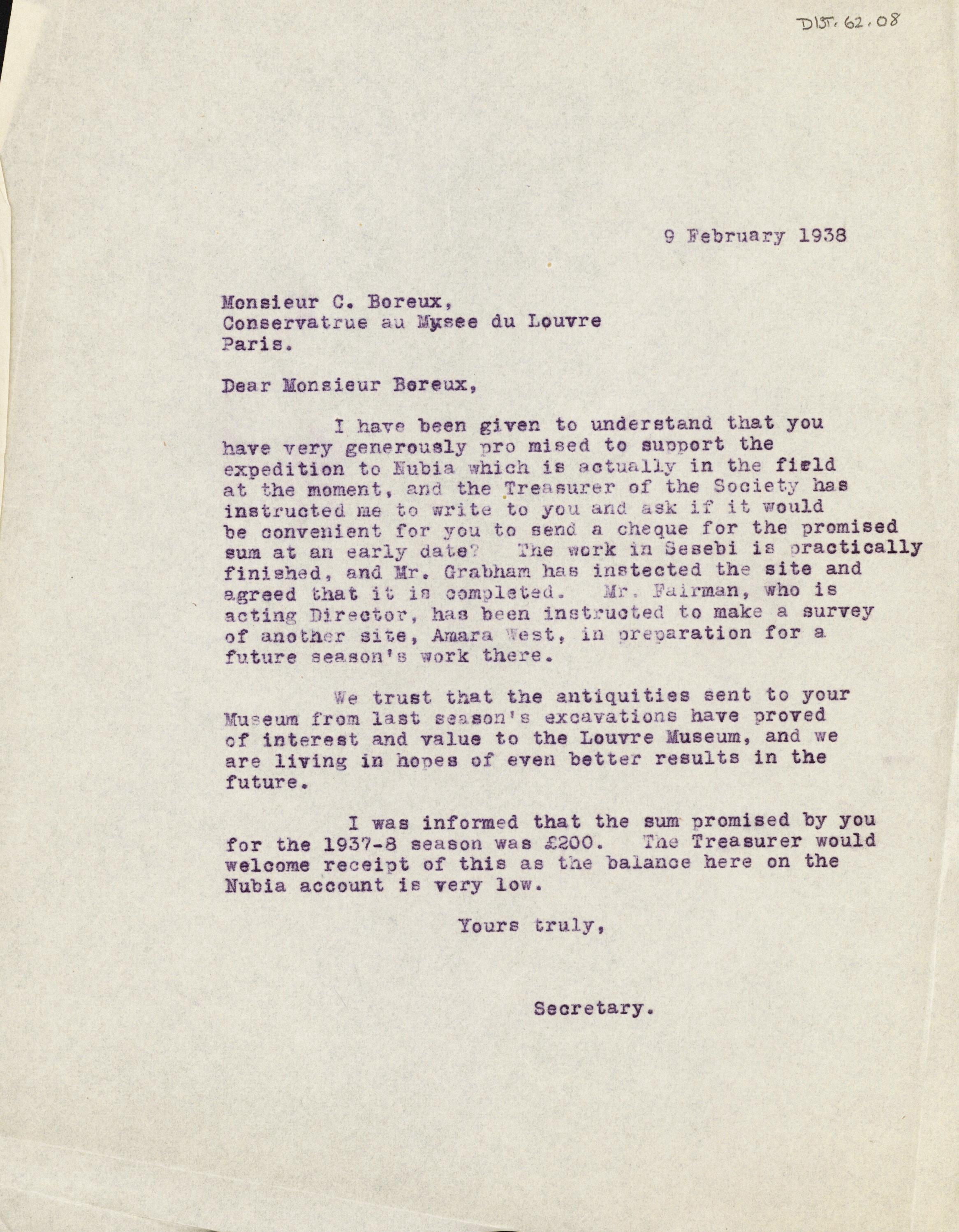 1936-38 Amarah West, Sesebi DIST.62.08