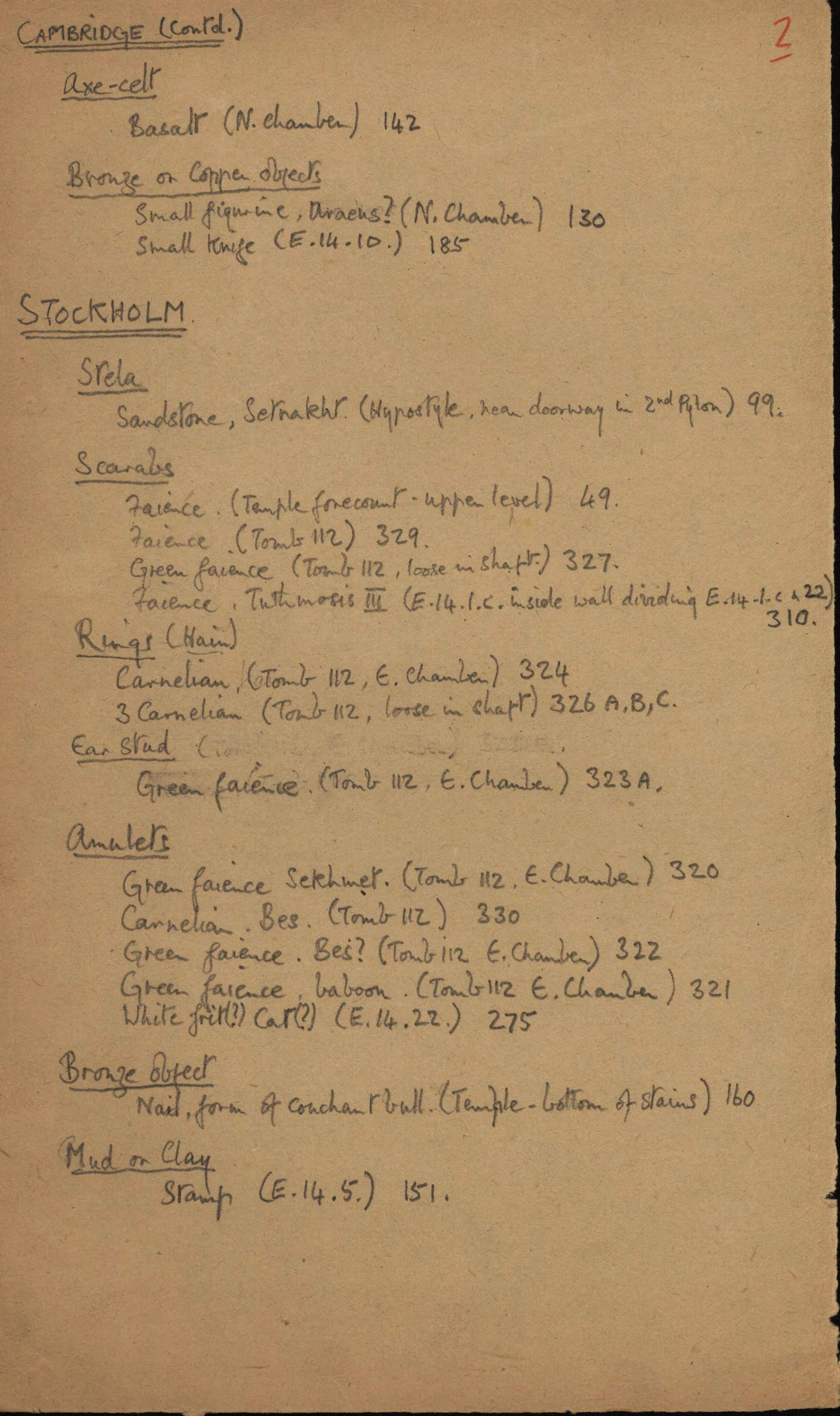 1936-39 Amarah West, Sesebi DIST.63.07b