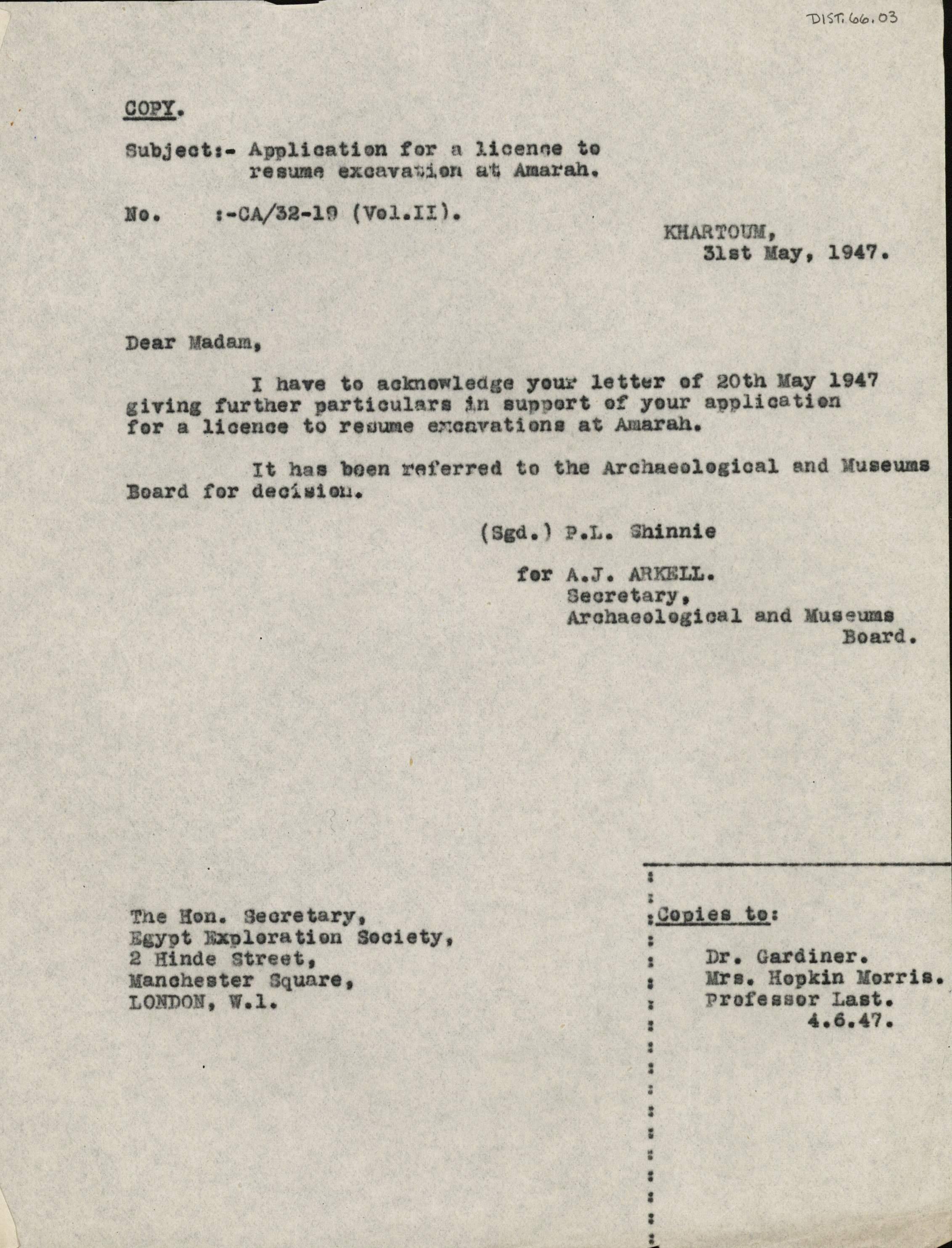 1947-54 Amarah West DIST.66.03
