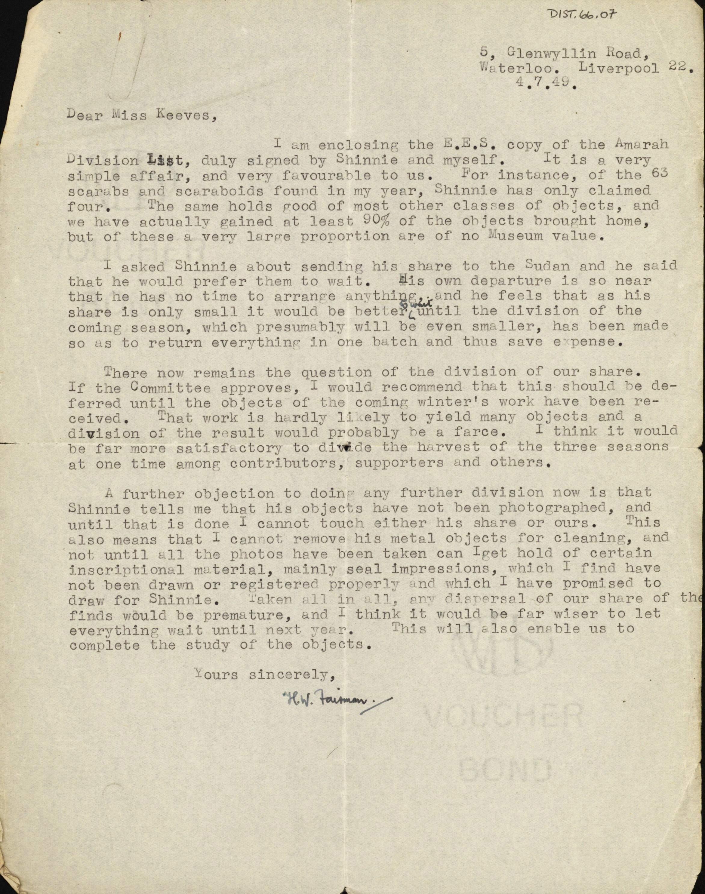 1947-54 Amarah West DIST.66.07