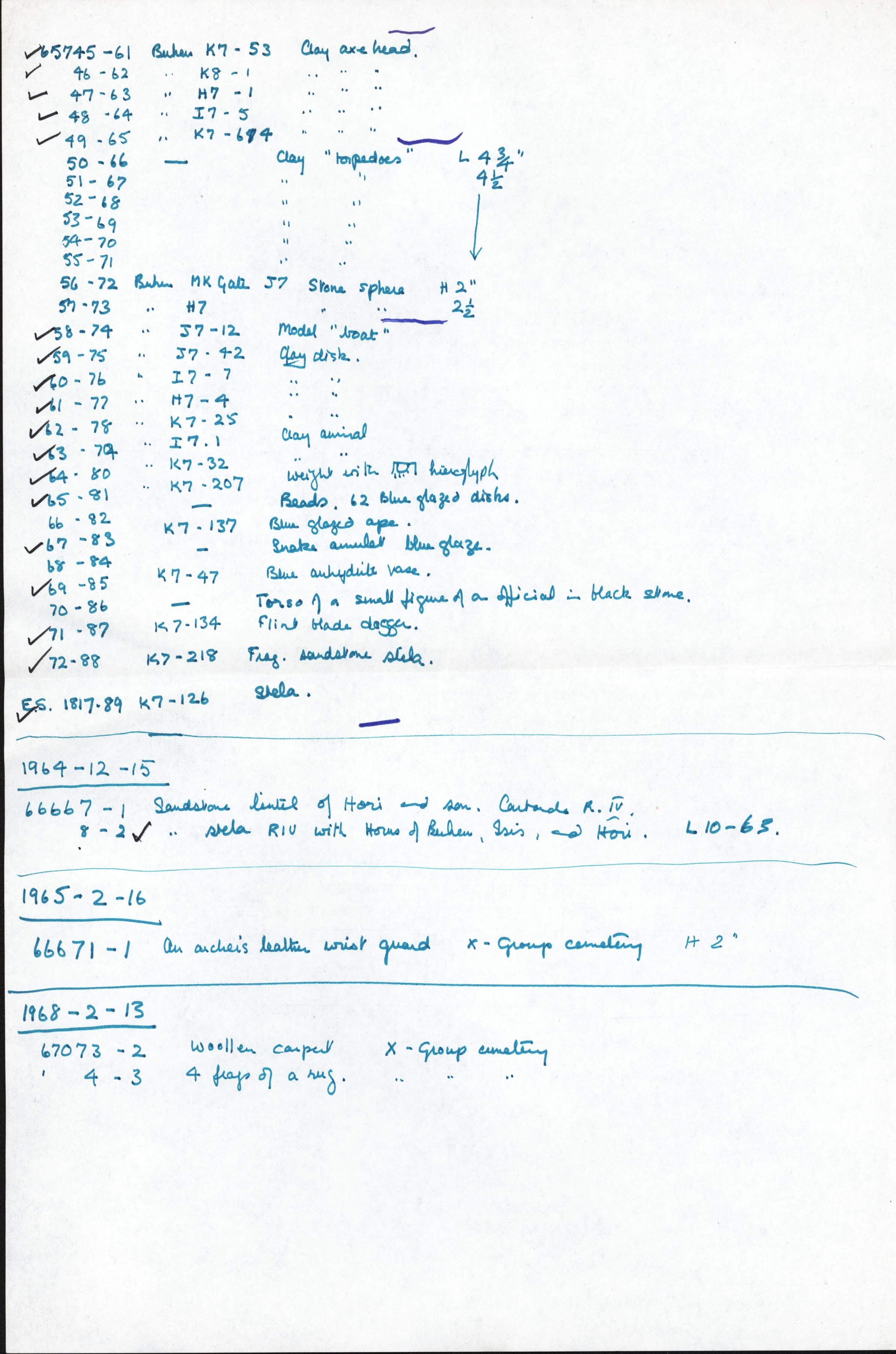 1959-74  Buhen DIST.68.42b