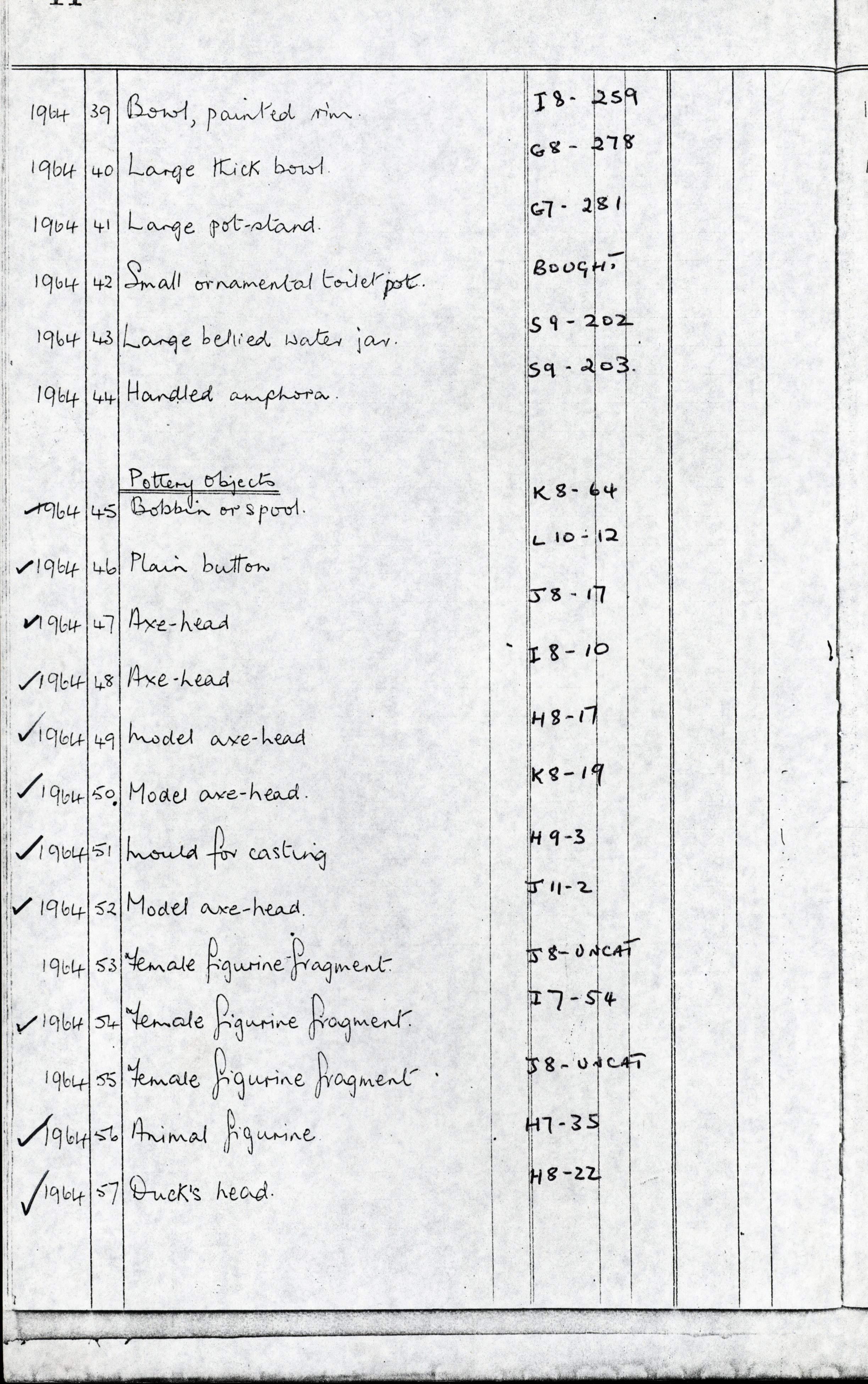 1959-74 Buhen DIST.68.50b