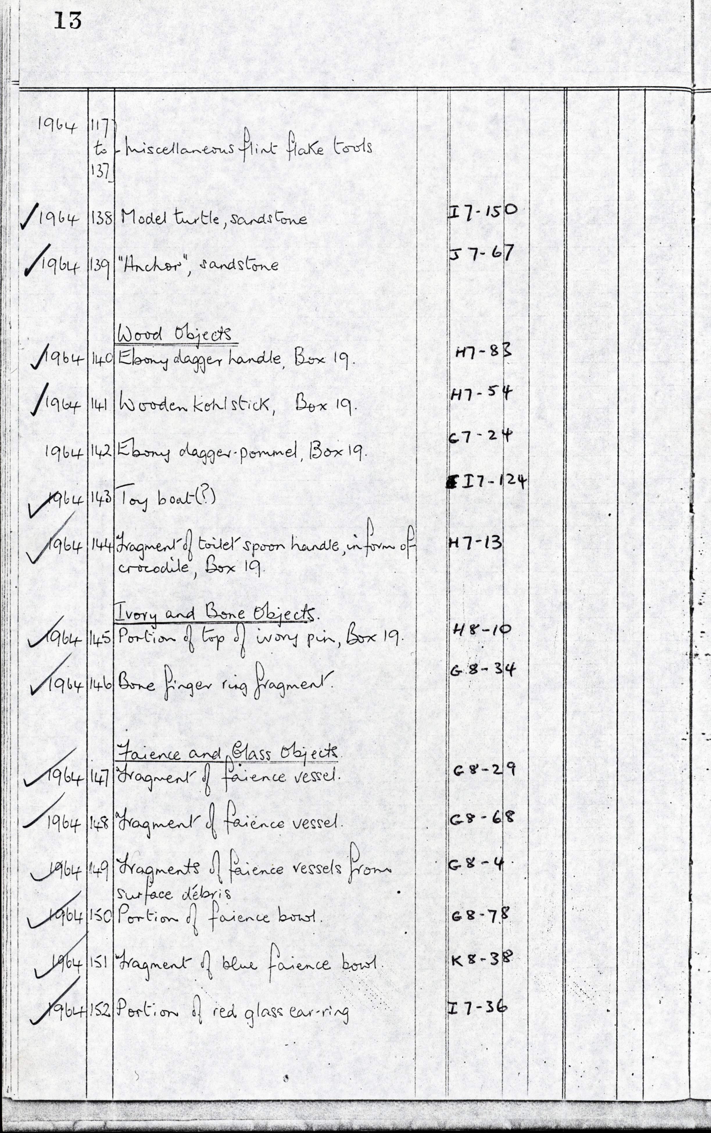 1959-74 Buhen DIST.68.50f