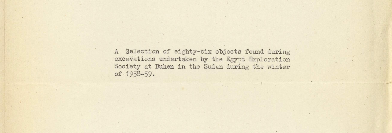 1959-76 Buhen DIST.69.08b