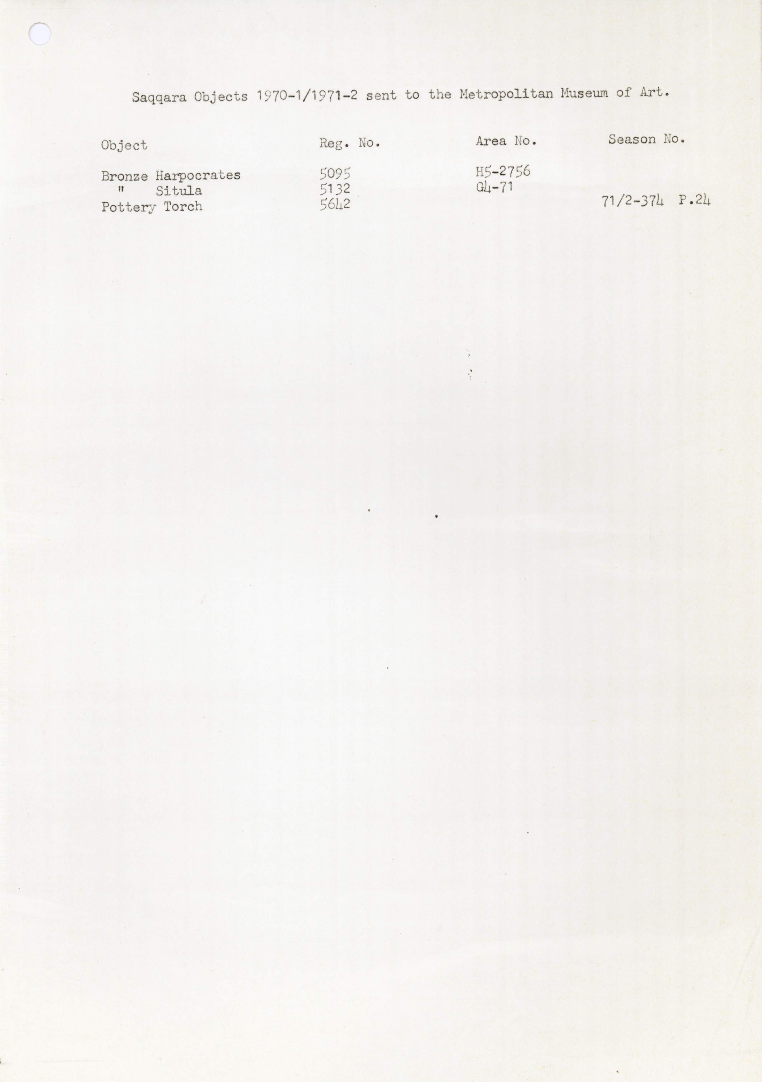 1968-84 Saqqara DIST.71.07i