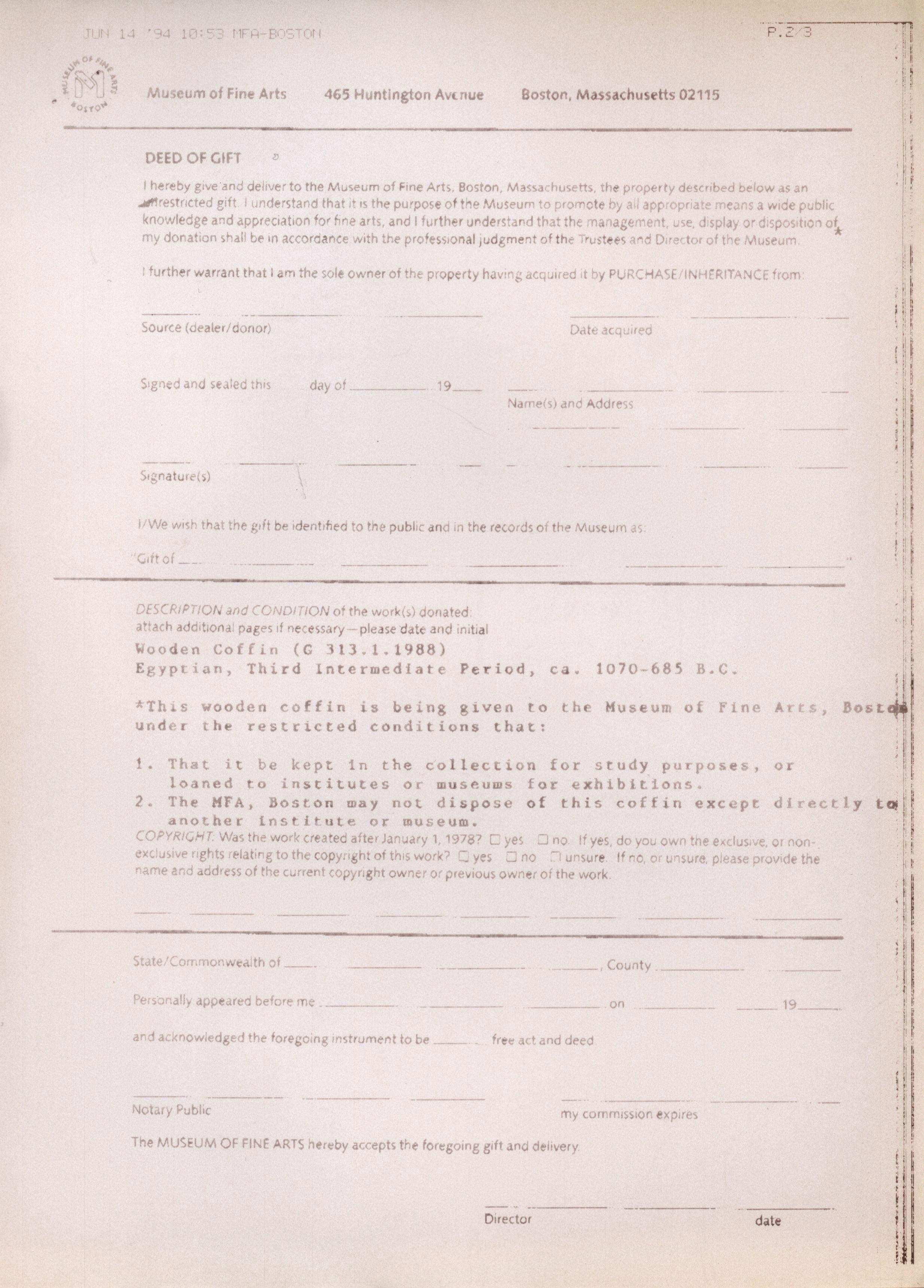1986-2001 Saqqara, Qasr Ibrim and Memphis DIST.74.11b