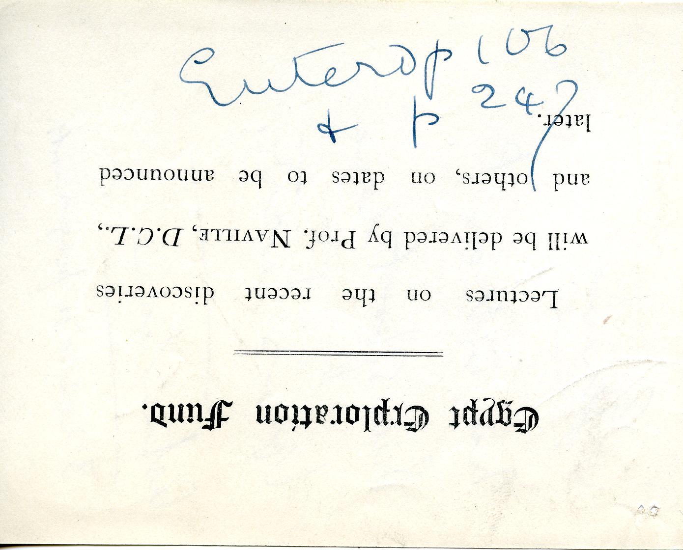 1905-06 Deir el-Bahri, Oxyrhynchus DIST.26.13.015