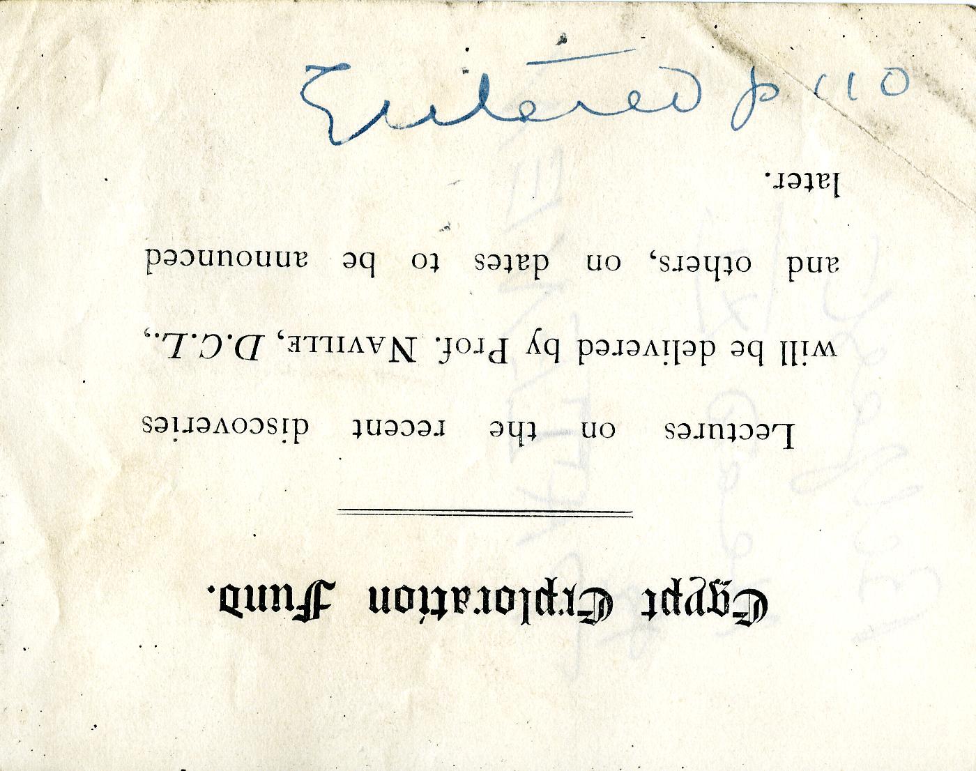 1905-06 Deir el-Bahri, Oxyrhynchus DIST.26.13.020