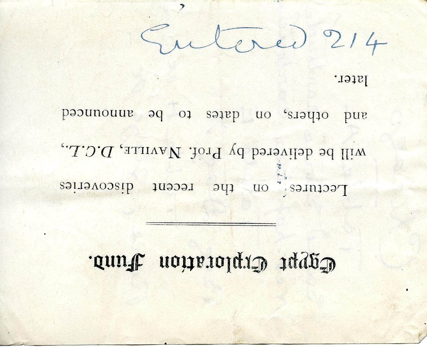 1905-06 Deir el-Bahri, Oxyrhynchus DIST.26.13.074
