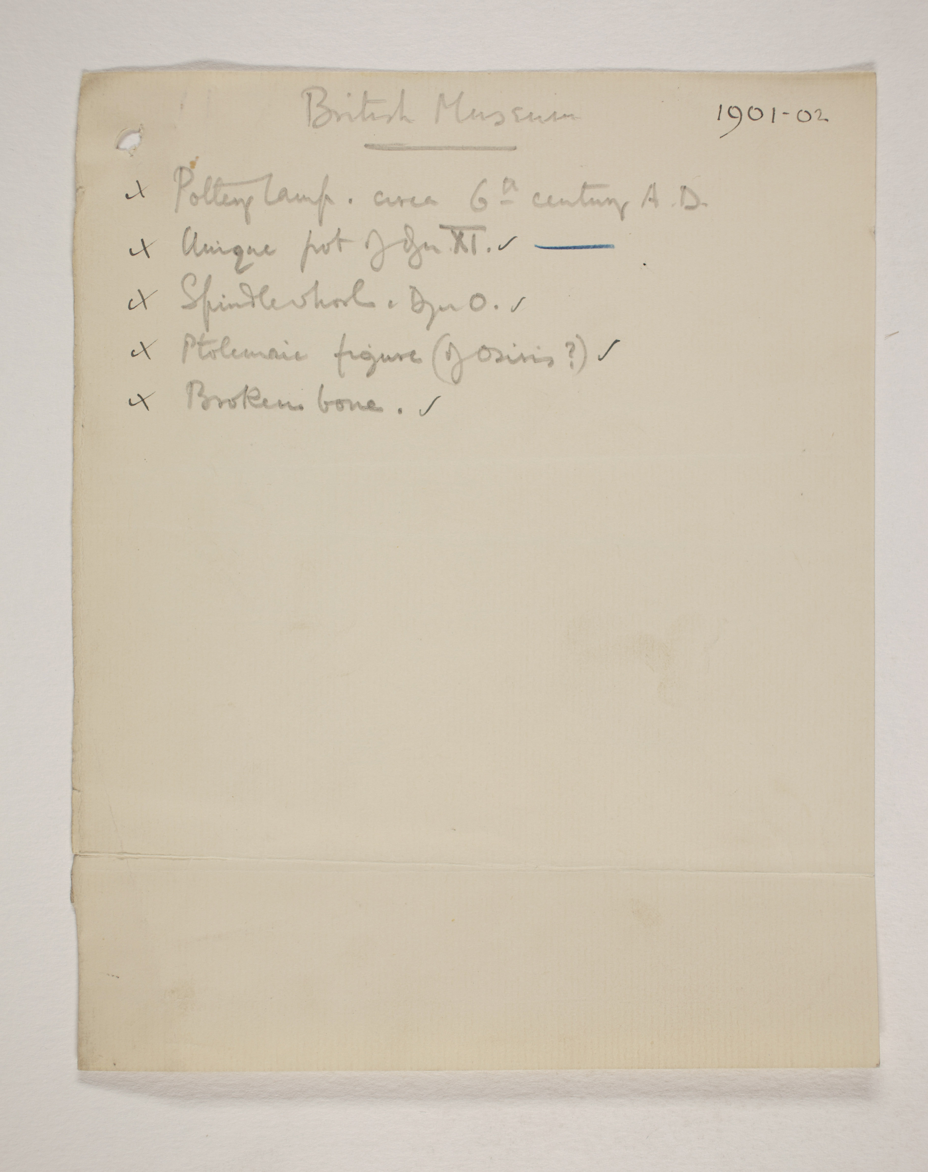 1901-02 Abydos Individual institution list  PMA/WFP1/D/10/7