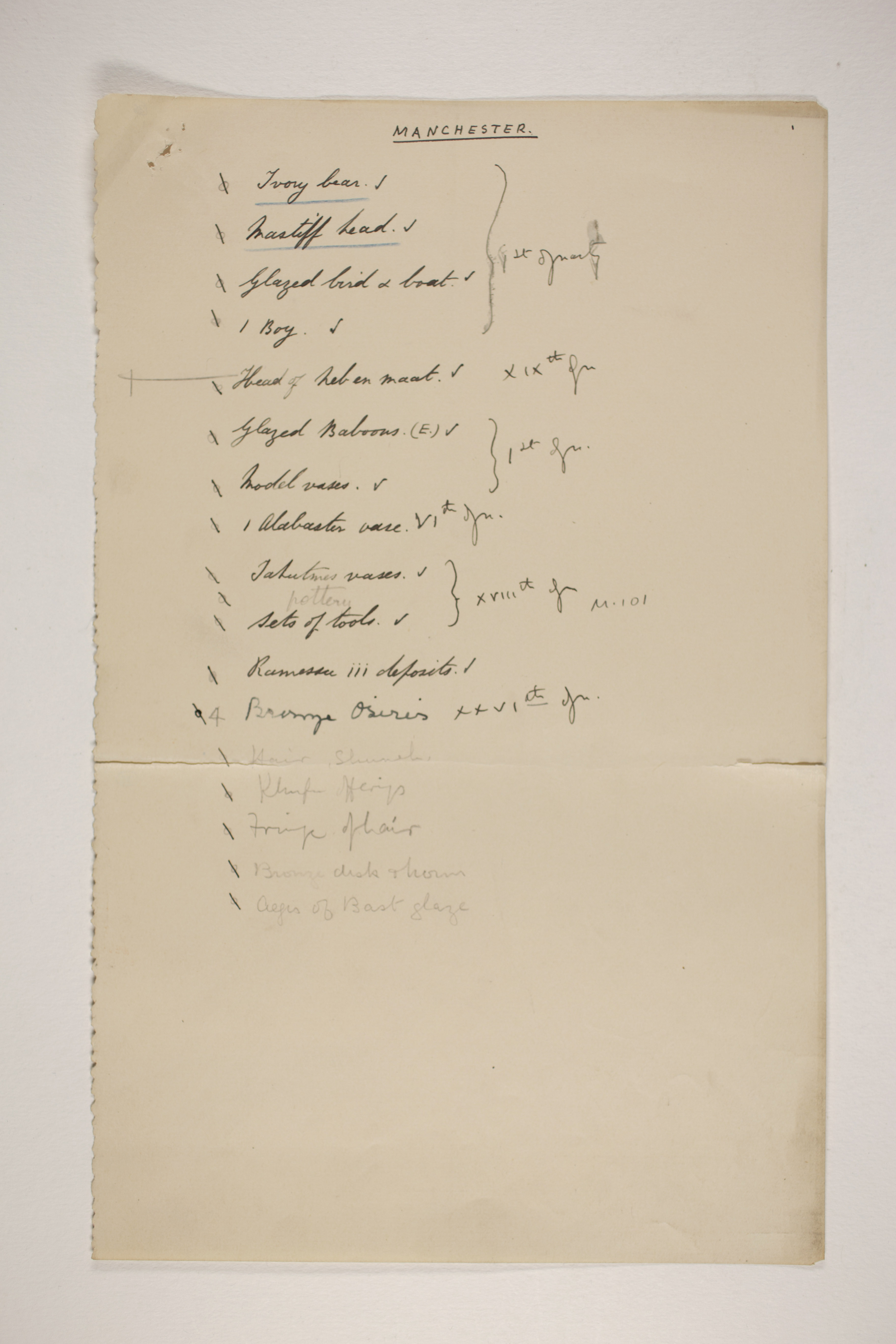 1902-03 Abydos Individual institution list  PMA/WFP1/D/11/36
