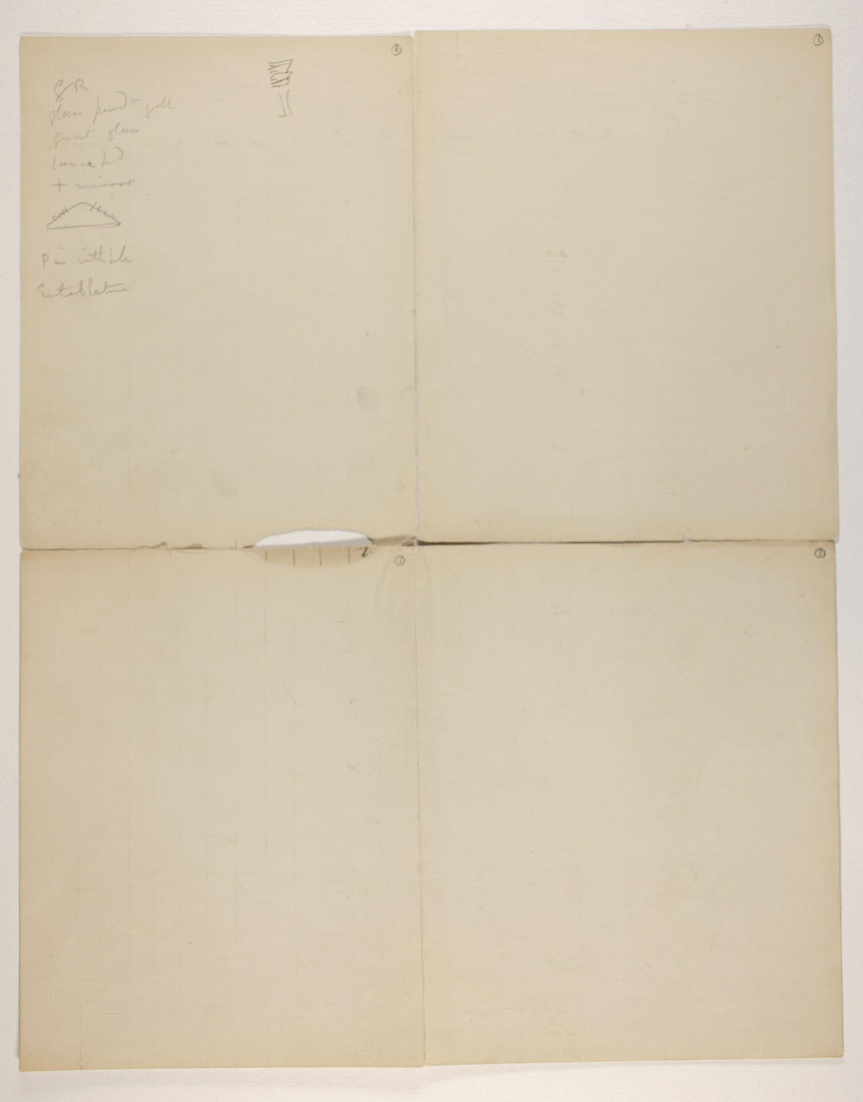 1905-06 Eastern Delta: Belbeis, Tell el-Rataba, Saft el-Hinna, Tell el-Yahudiya, Shaghanbeh, Ghita Object list PMA/WFP1/D/14/1.2