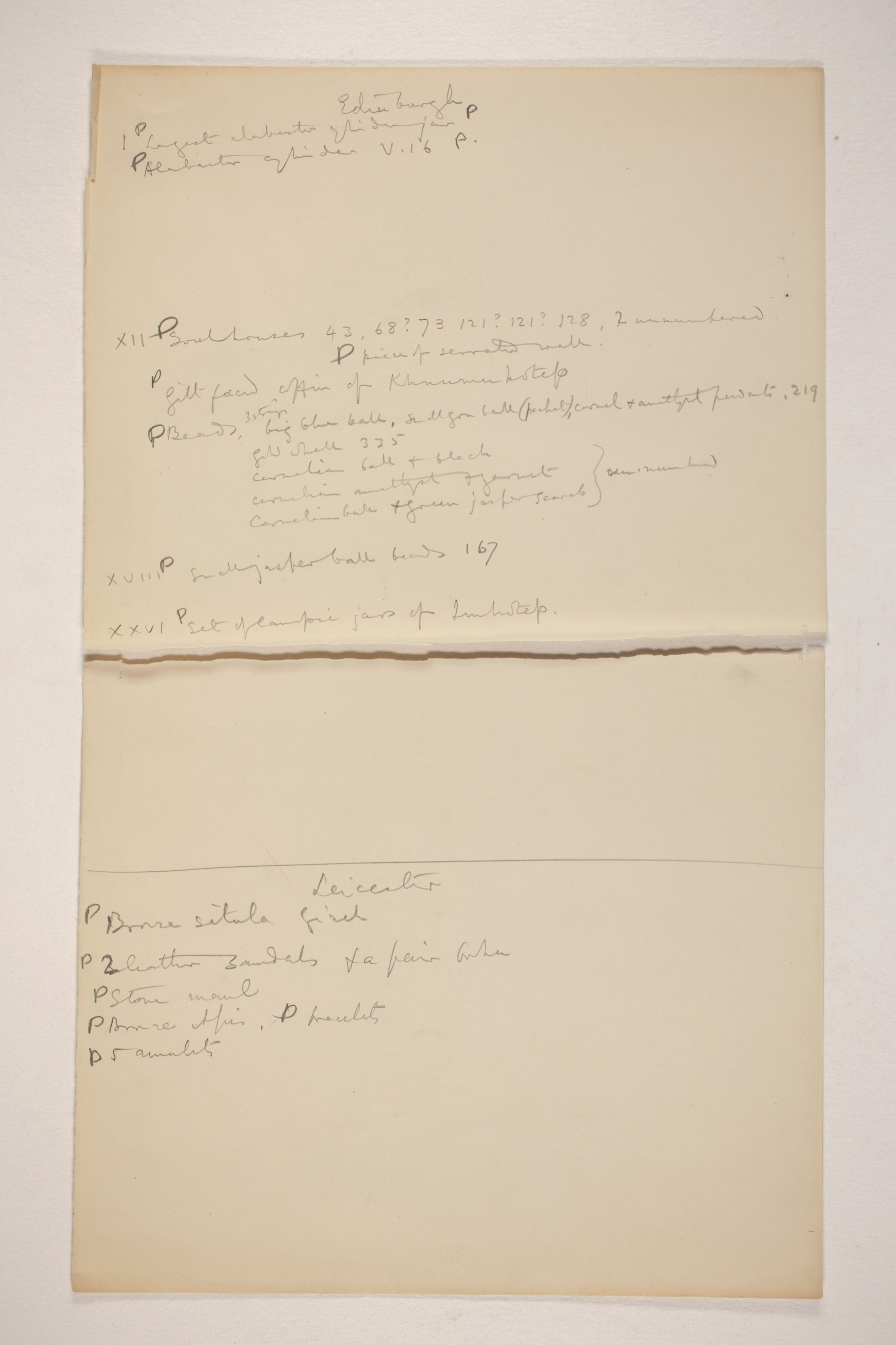 1906-07 Giza and Deir Rifeh Multiple institution list PMA/WFP1/D/15/17