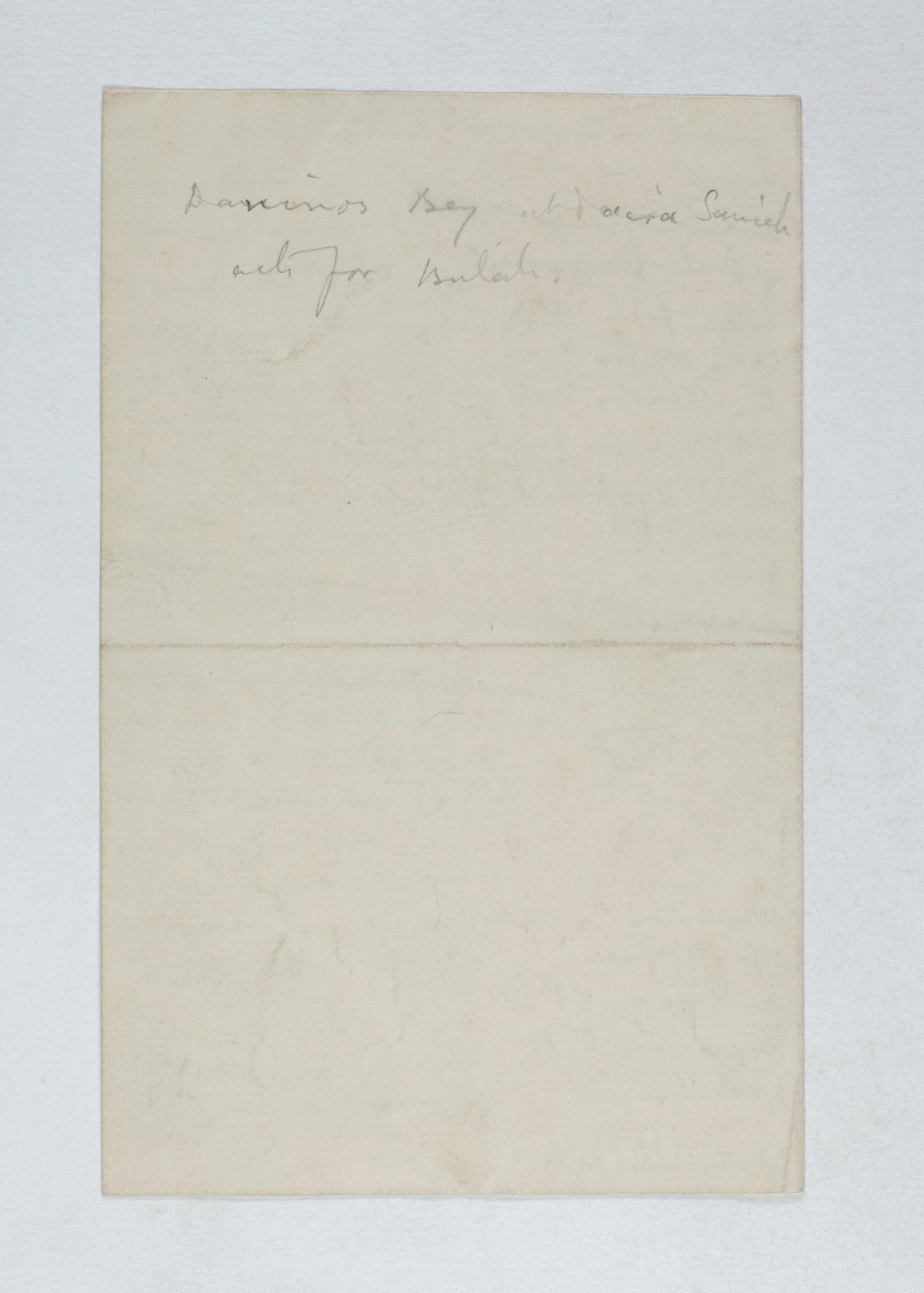 1885-1894  Object list  PMA/WFP1/D/1/2.3