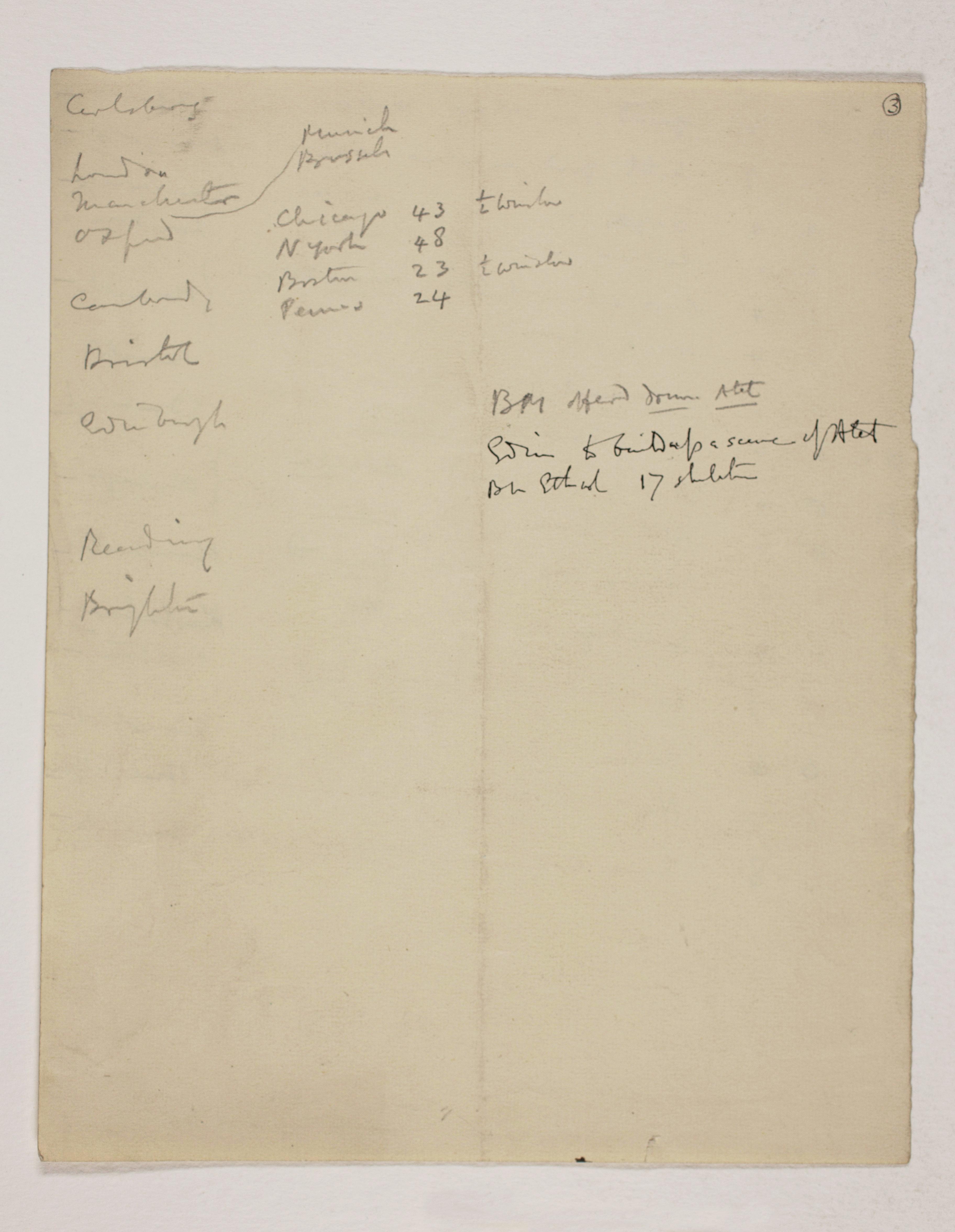 1913-14 Lahun, Haraga Distribution list PMA/WFP1/D/22/3.2