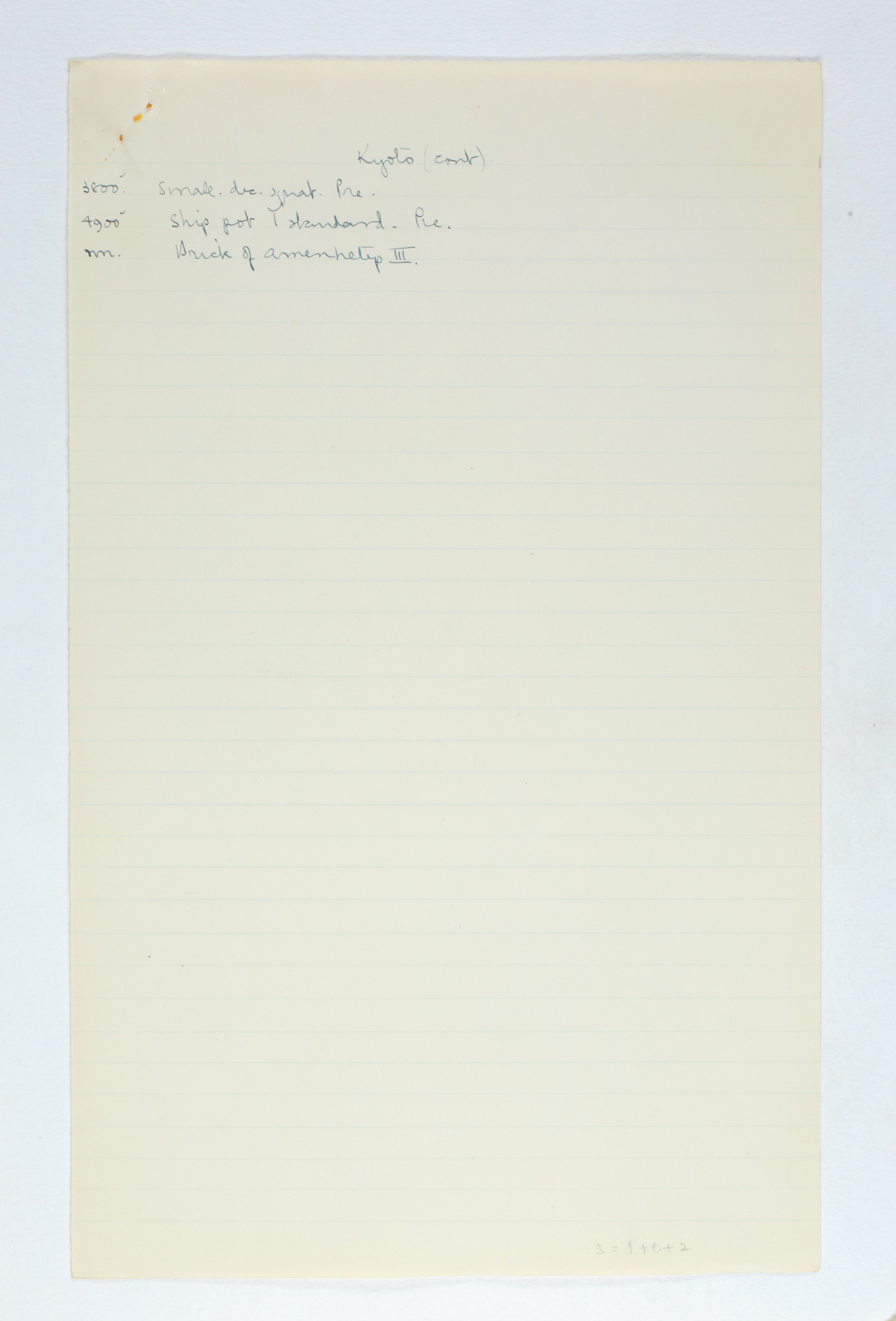 1923-24 Qau el-Kebir, Hemamieh Individual institution list PMA/WFP1/D/27/14.4