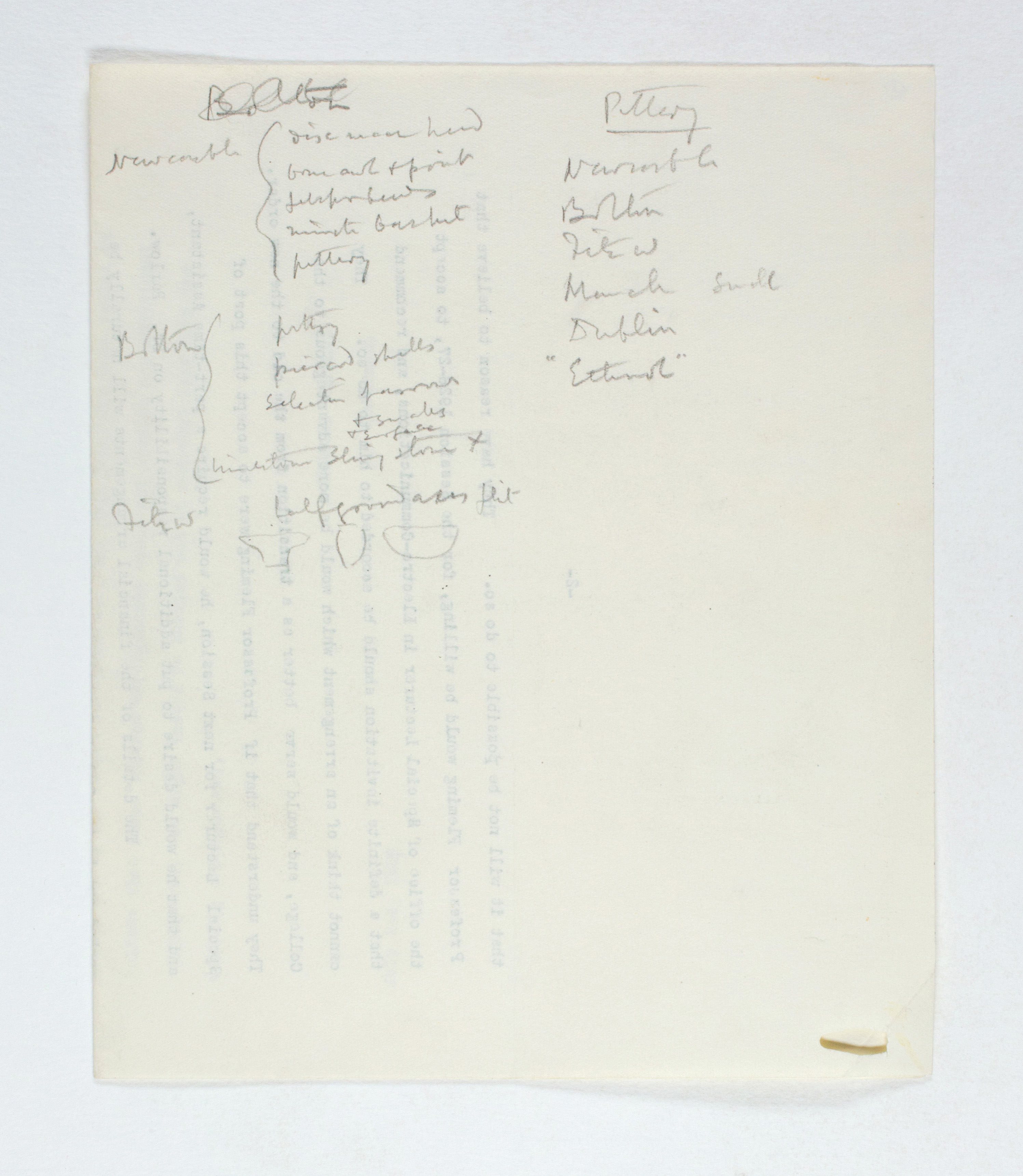1925-26 Badari, Faiyum Multiple institution list PMA/WFP1/D/29/1.2