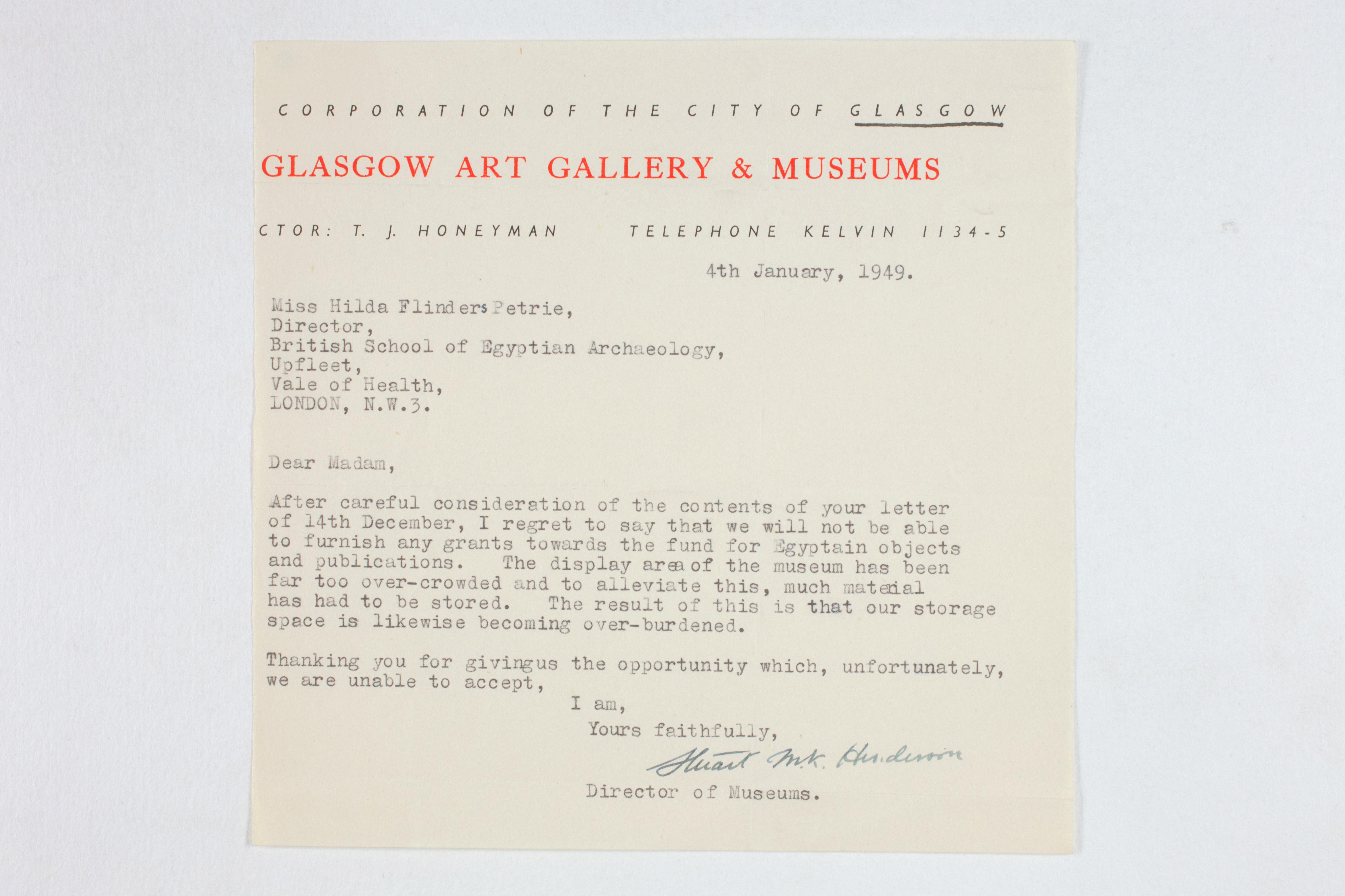 1931-50 Reserve correspondence Correspondence PMA/WFP1/D/32/11
