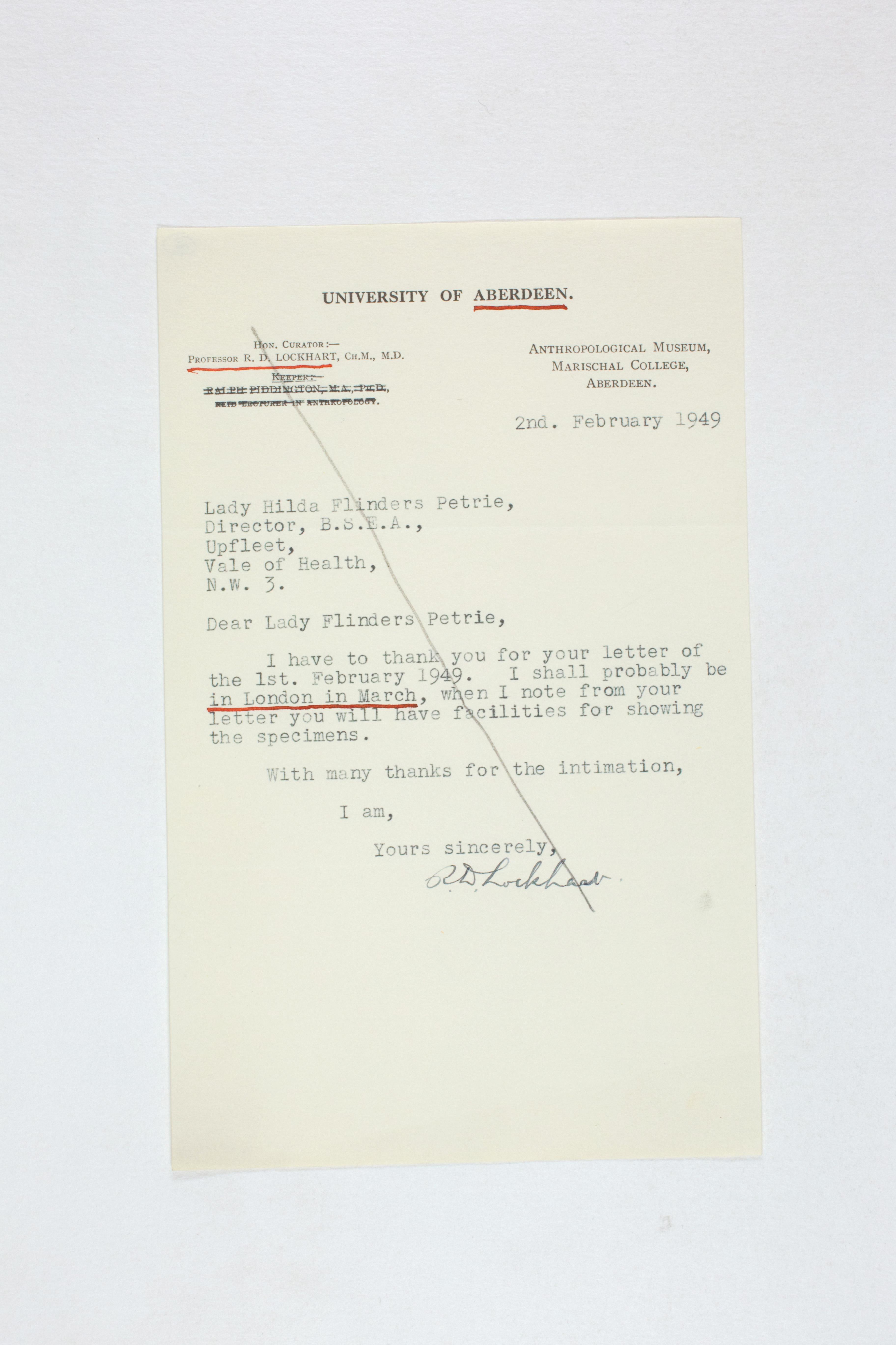 1931-50 Reserve correspondence Correspondence PMA/WFP1/D/32/18