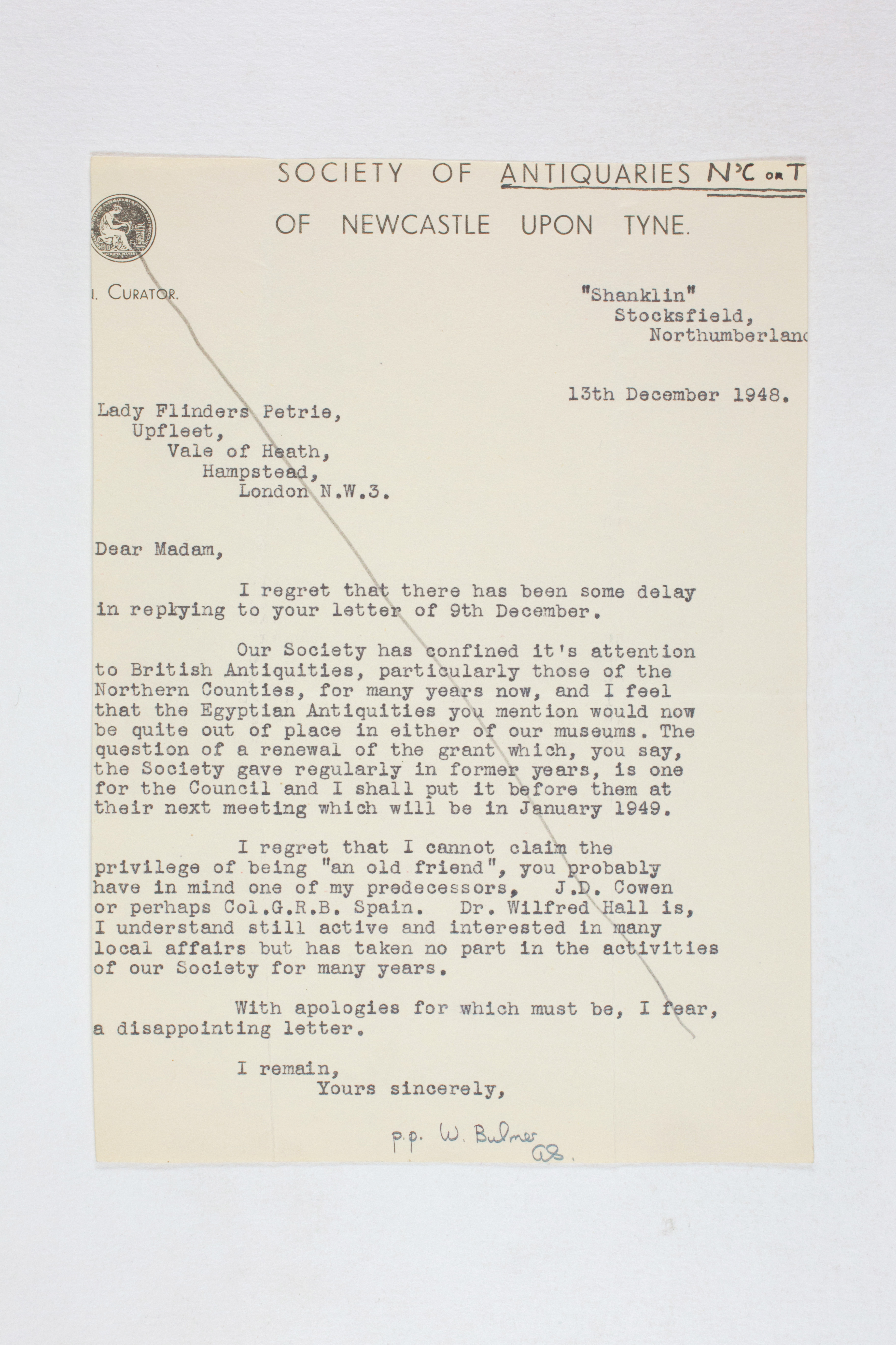 1931-50 Reserve correspondence Correspondence PMA/WFP1/D/32/4