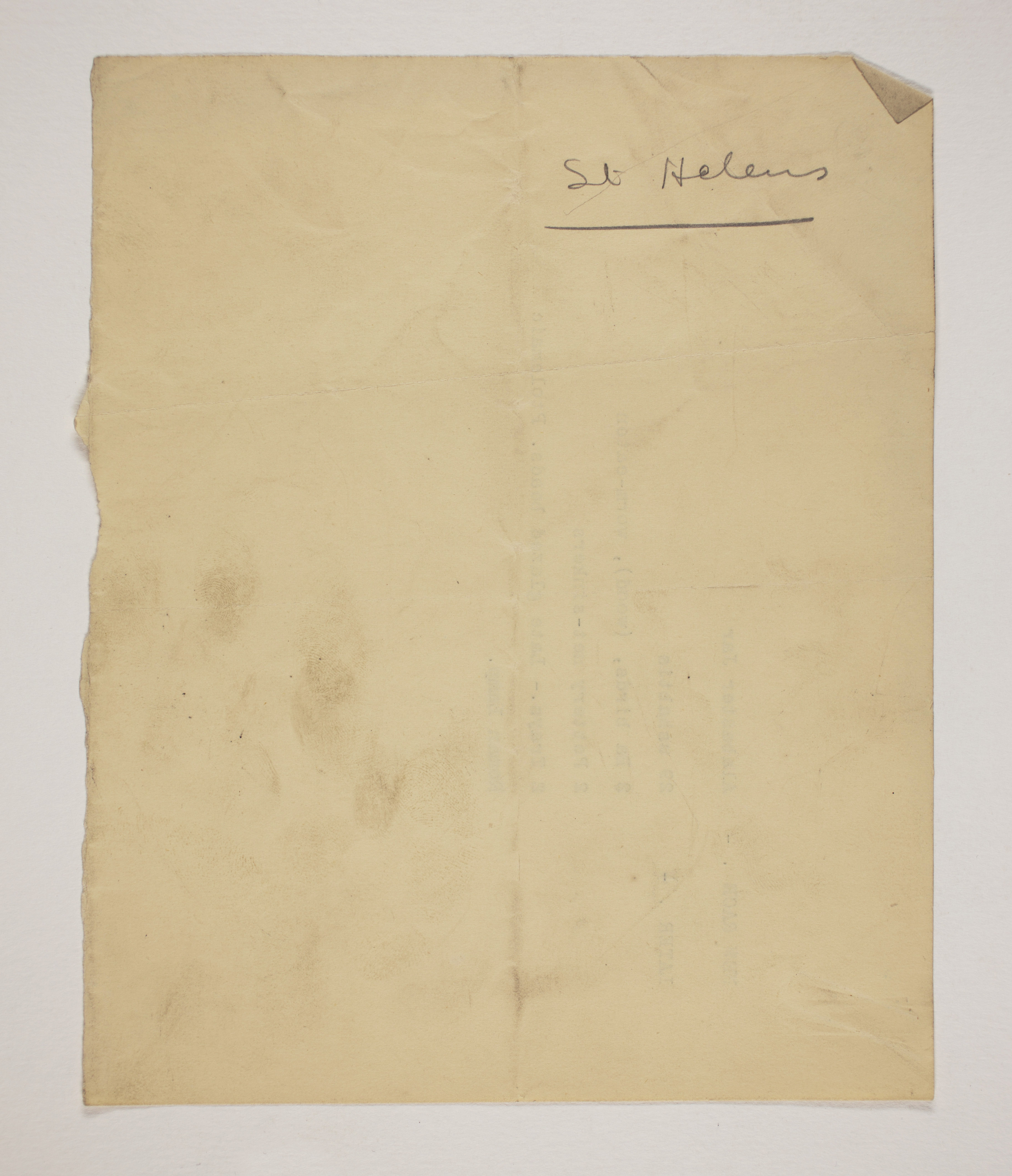 1899-1900 Abydos Receipt from institution PMA/WFP1/D/8/8.3