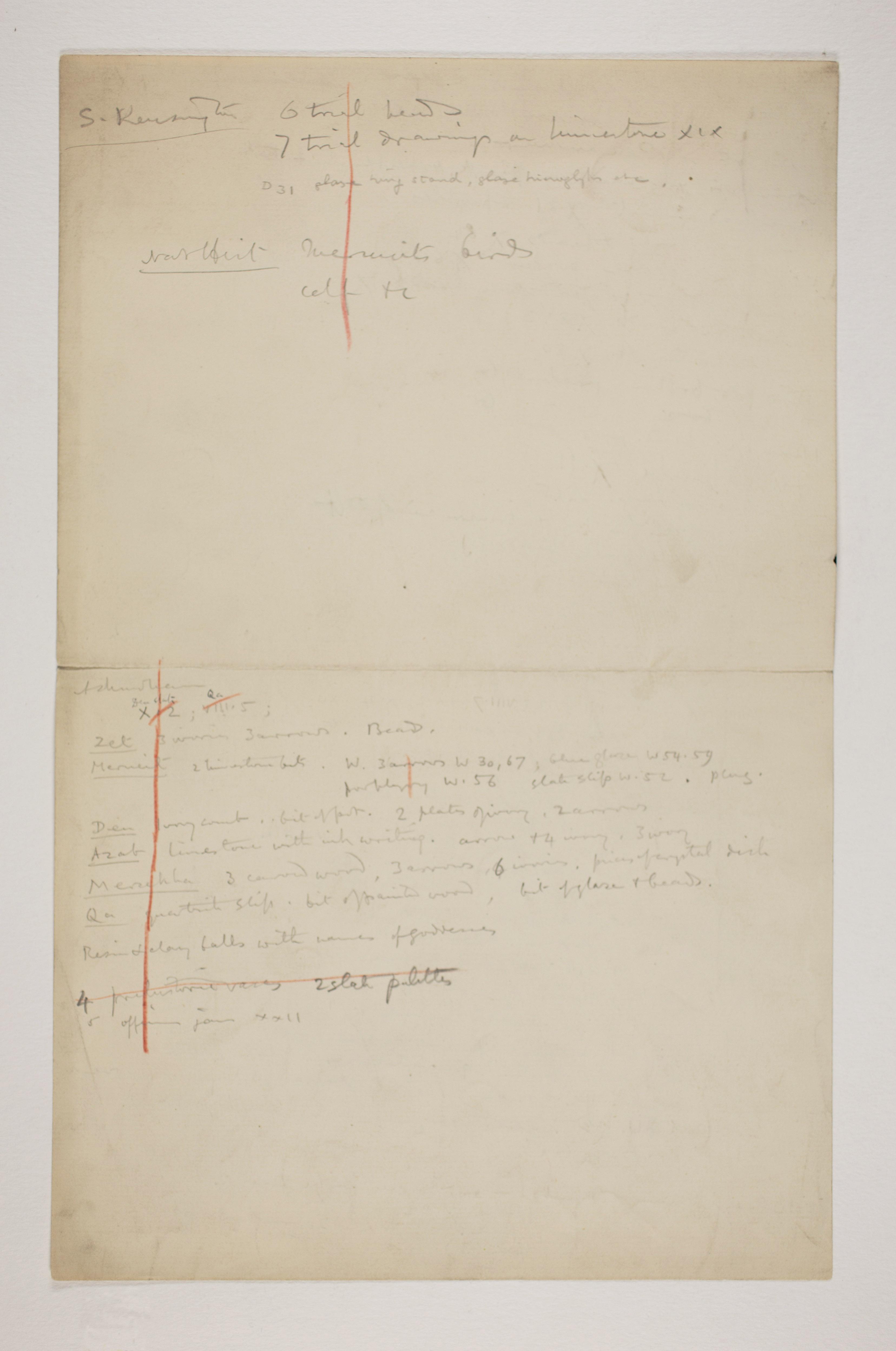 1899-1900 Abydos Multiple institution list PMA/WFP1/D/8/9.2