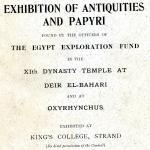 1905-06 Deir el-Bahri, Oxyrhynchus DIST.26.17a