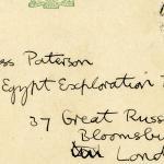 1909-10 Abydos, Sedment, Gahmut, Ihnasya DIST.31.01b