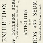 1909-10 Abydos, Sedment, Gahmut, Ihnasya DIST.31.08k