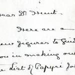 1908-13 Papyri DIST.32.08a