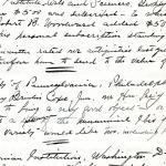 1913 Correspondence American museums DIST.36.13b