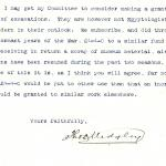 1922-76 Miscellaneous correspondence with museums DIST.41.20b